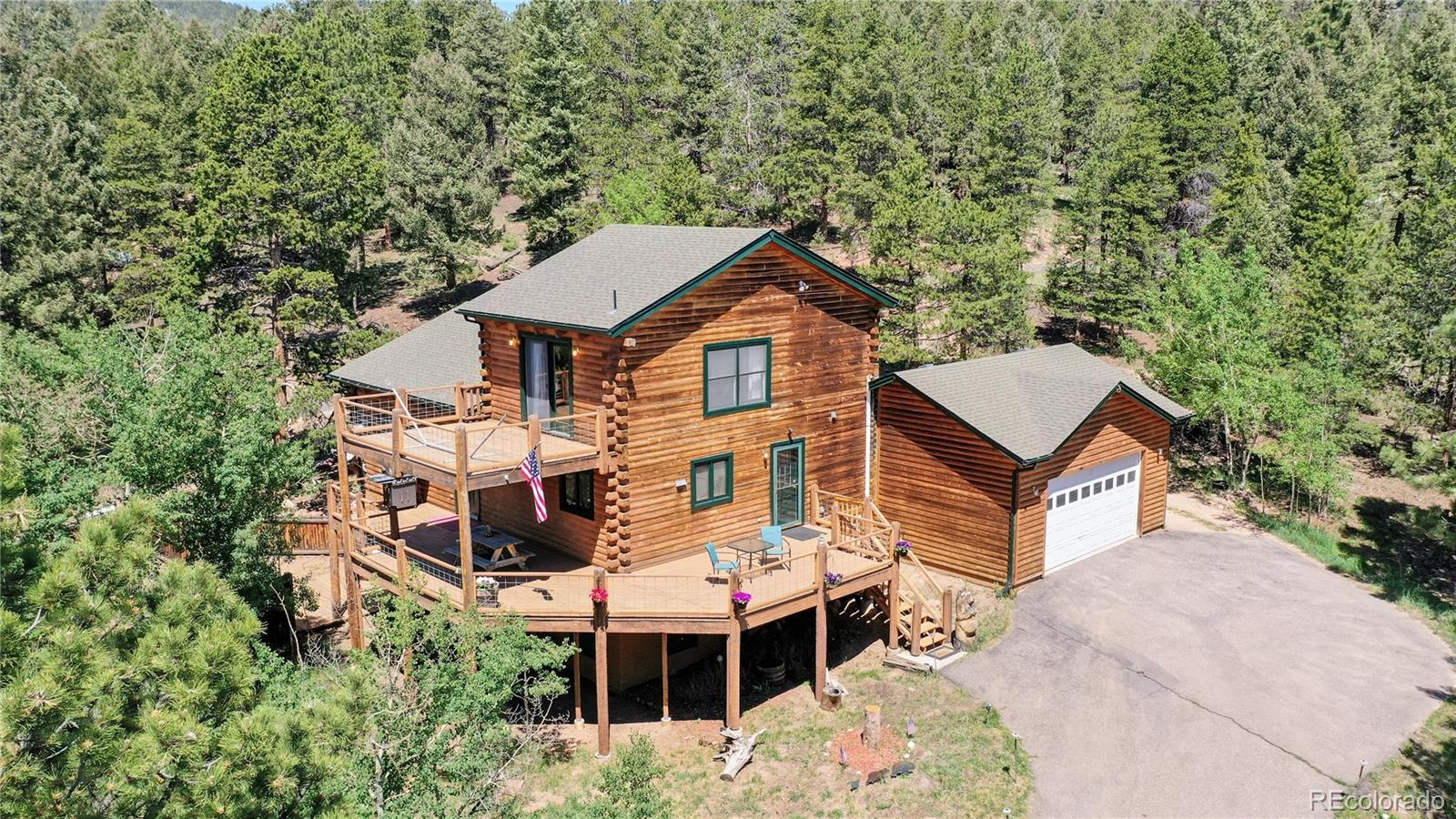 28609 Mountain View Road, Conifer, CO 80433 - #: 2449540