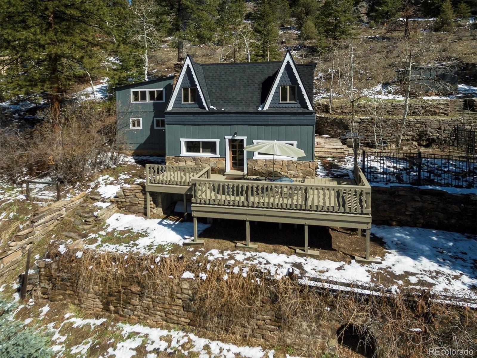1264 Beaver Brook Canyon Road, Evergreen, CO 80439 - #: 7803549