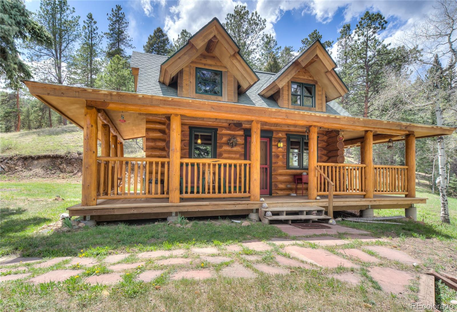 13515 S Baird Road, Conifer, CO 80433 - #: 7528563