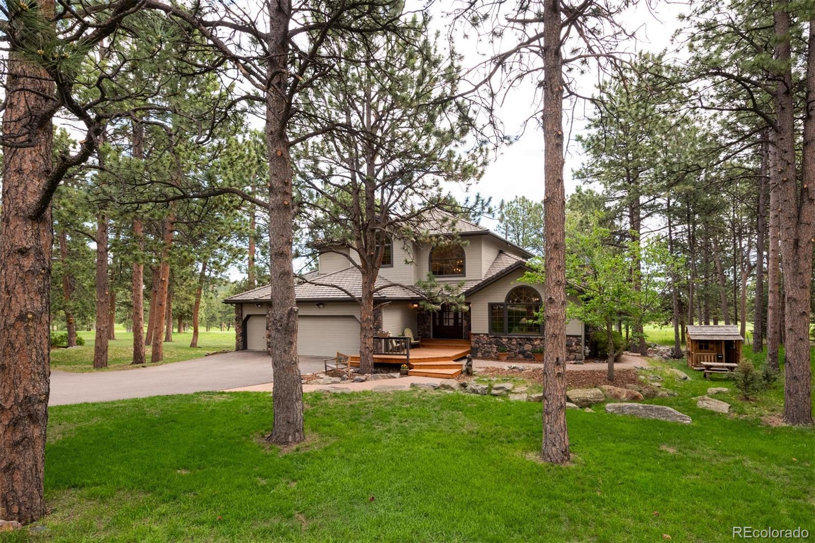 2216 Island Point, Evergreen, CO 80439 - #: 7498573