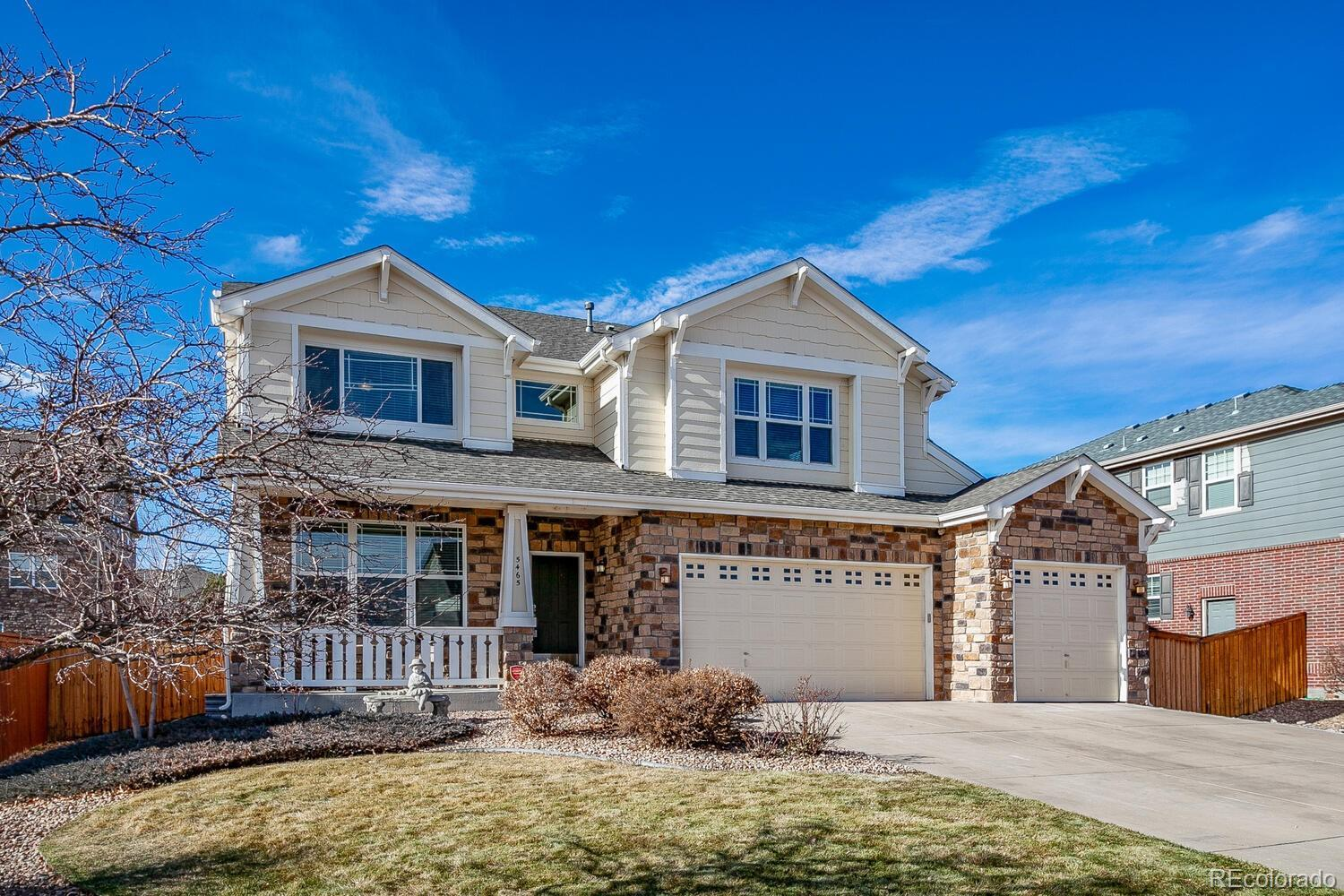 5465 S Flat Rock Way, Aurora, CO 80016 - #: 6576584