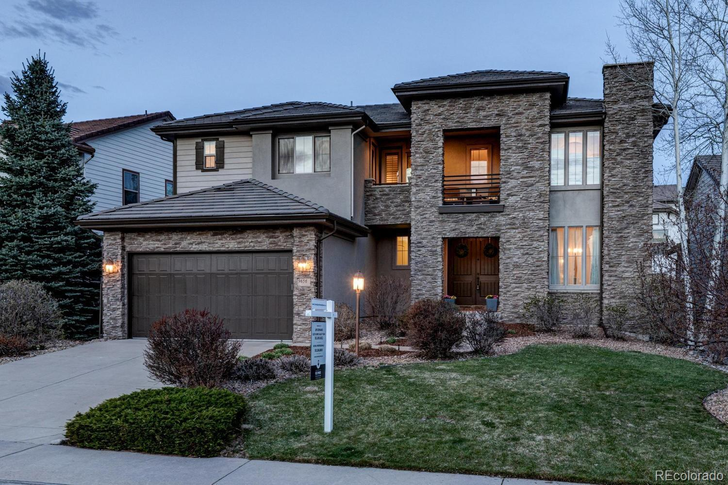 9656 Sunset Hill Drive, Lone Tree, CO 80124 - #: 5526615