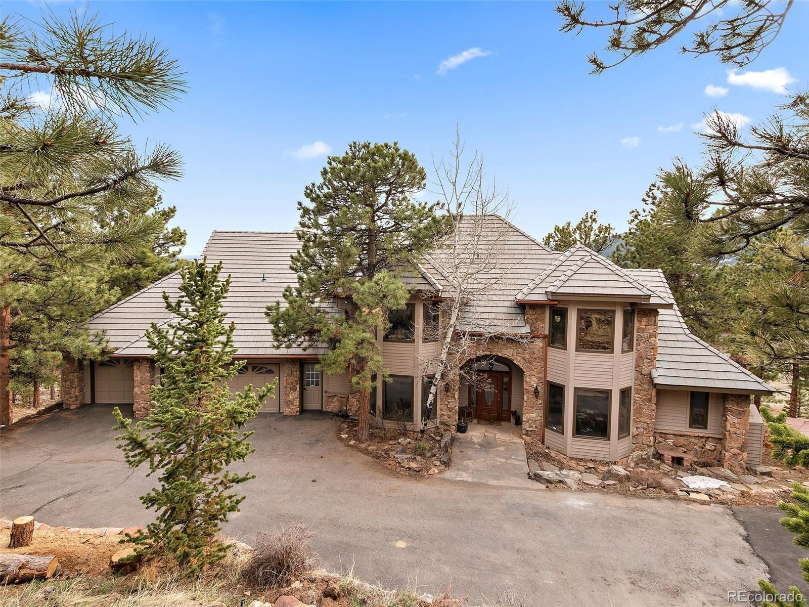 30546 Snowbird Lane, Evergreen, CO 80439 - #: 6201625