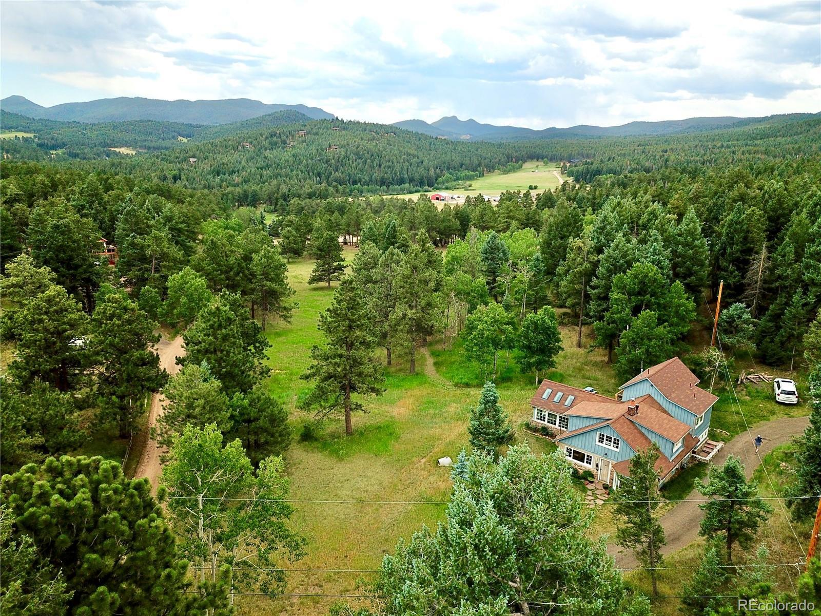 8701 S Blue Creek Road, Evergreen, CO 80439 - #: 9026633