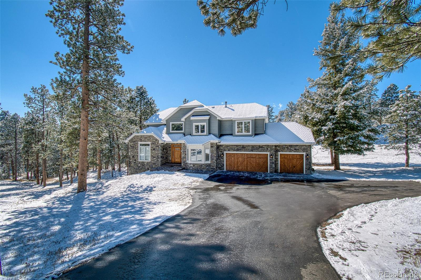 30150 Troutdale Scenic Drive, Evergreen, CO 80439 - #: 8758649