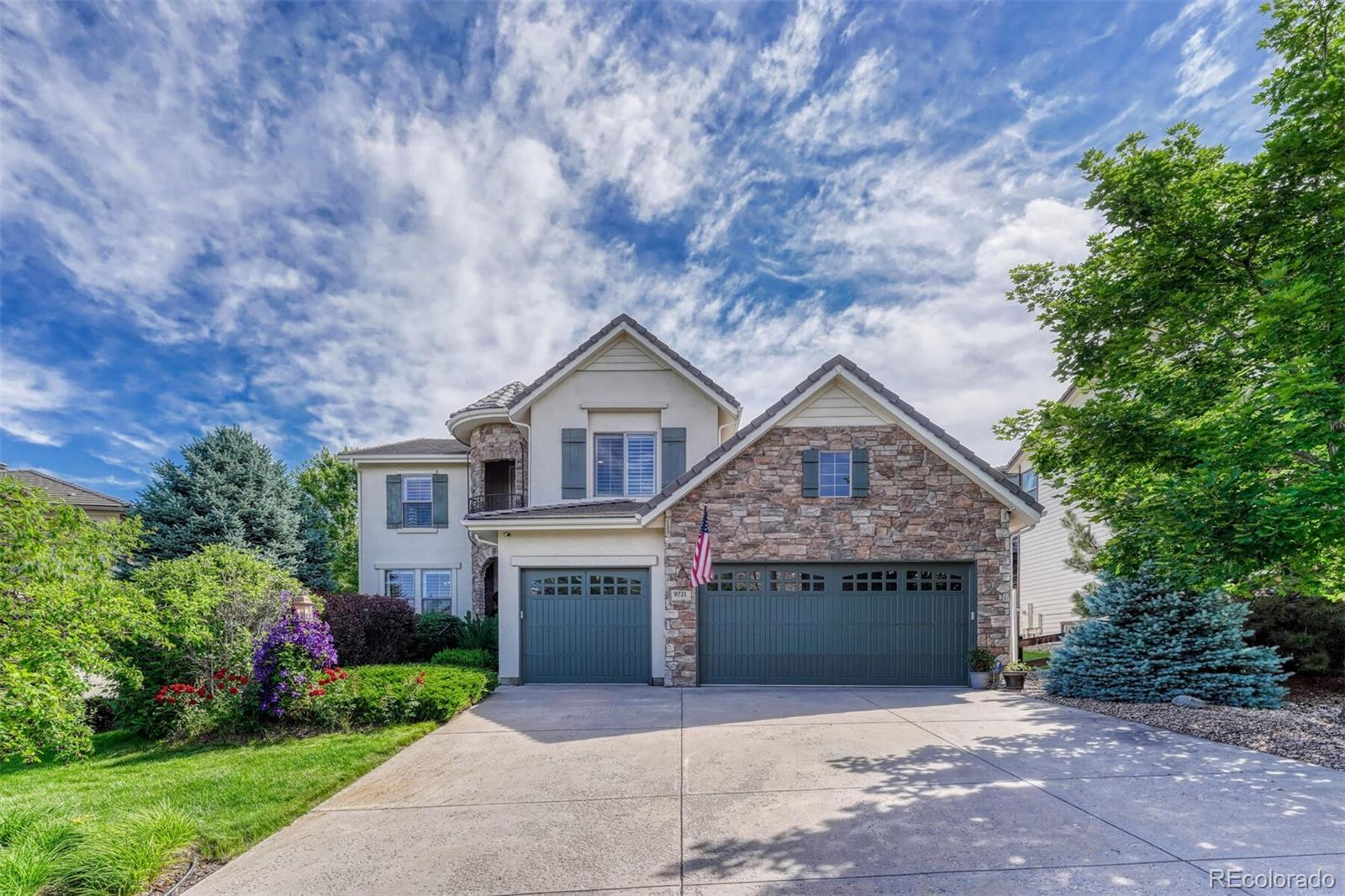 9721 Sunset Hill Place, Lone Tree, CO 80124 - #: 7827664