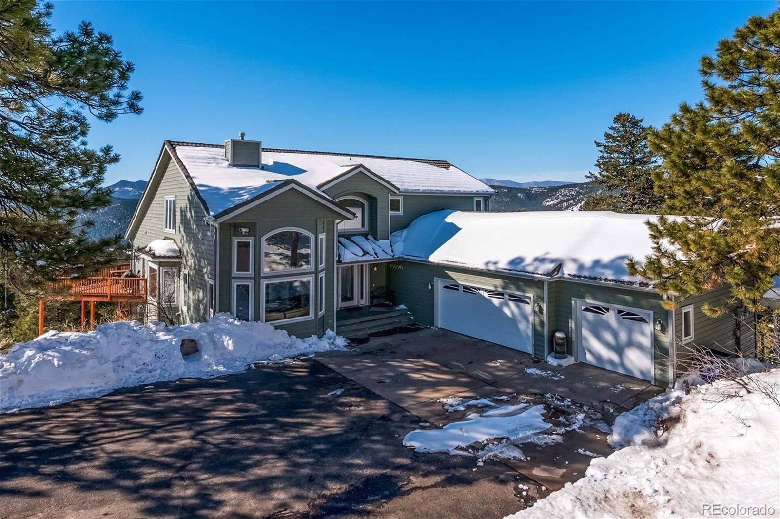 21264 Mount Falcon Road, Indian Hills, CO 80454 - #: 9739681