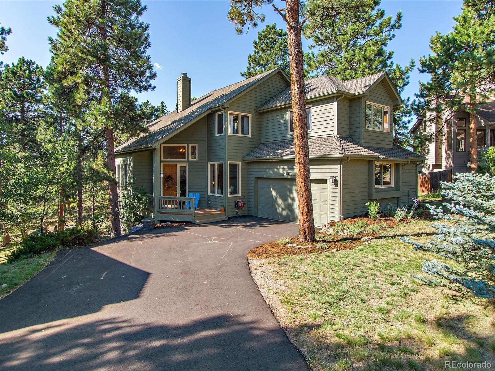 29972 Troutdale Ridge Road, Evergreen, CO 80439 - #: 3736685