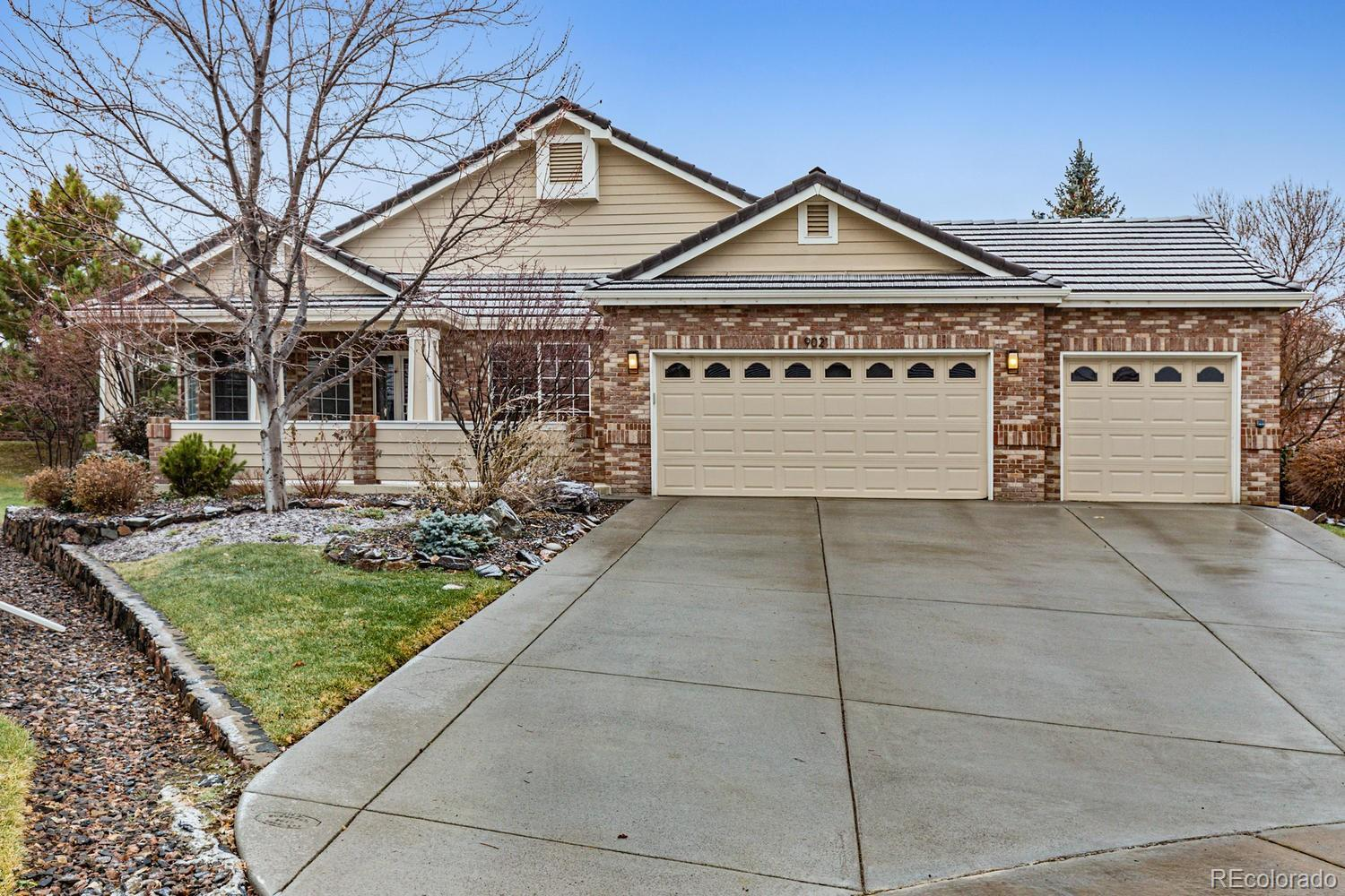 9021  Meadow Hill Circle, Lone Tree, CO 80124 - #: 8004689