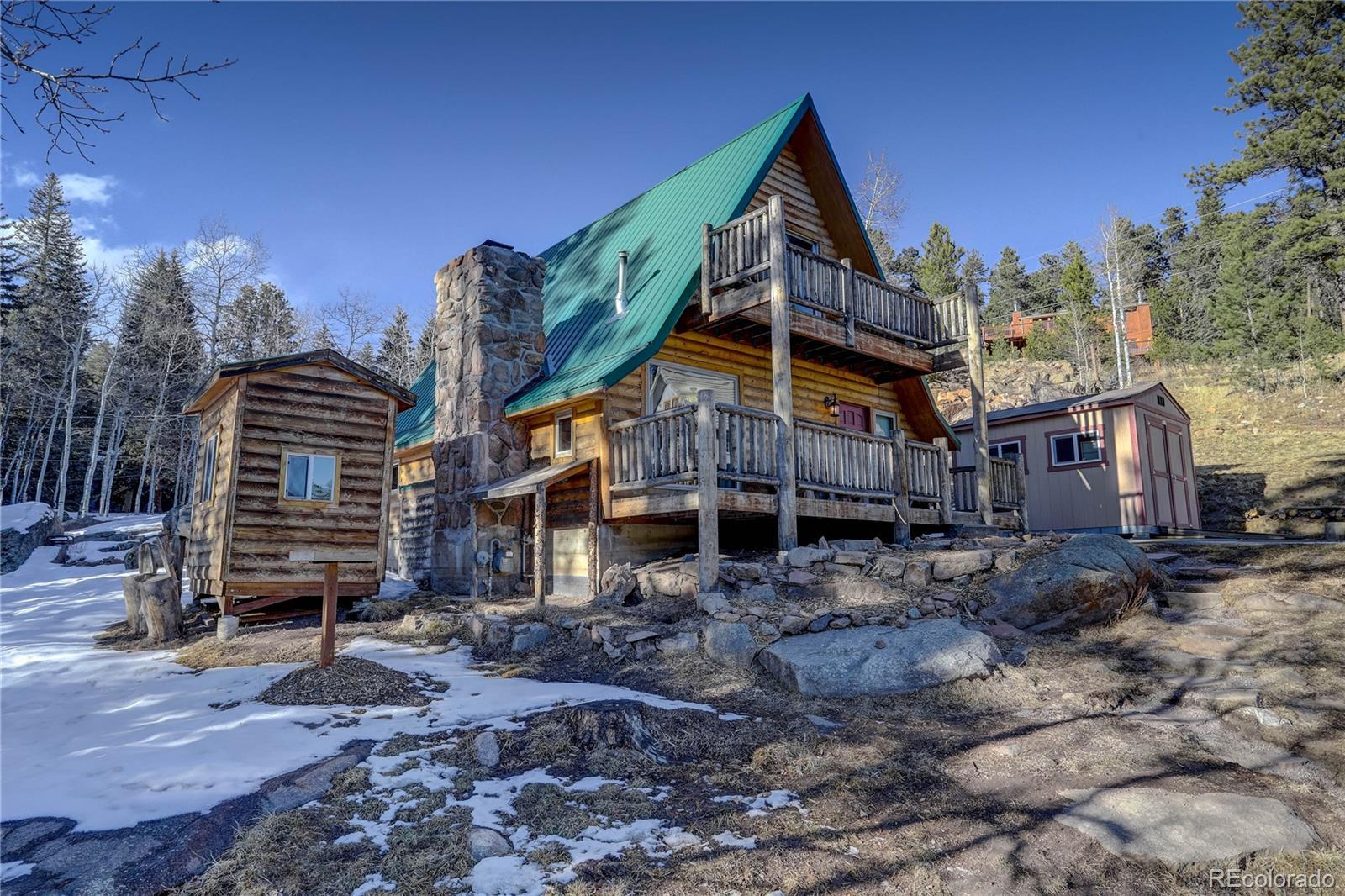 8107 S Brook Forest Road, Evergreen, CO 80439 - #: 9884717