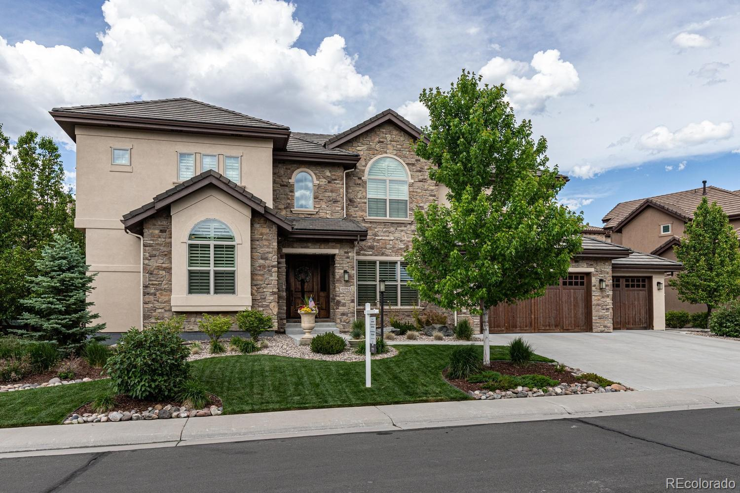 10096 S Shadow Hill Drive, Lone Tree, CO 80124 - #: 7992727