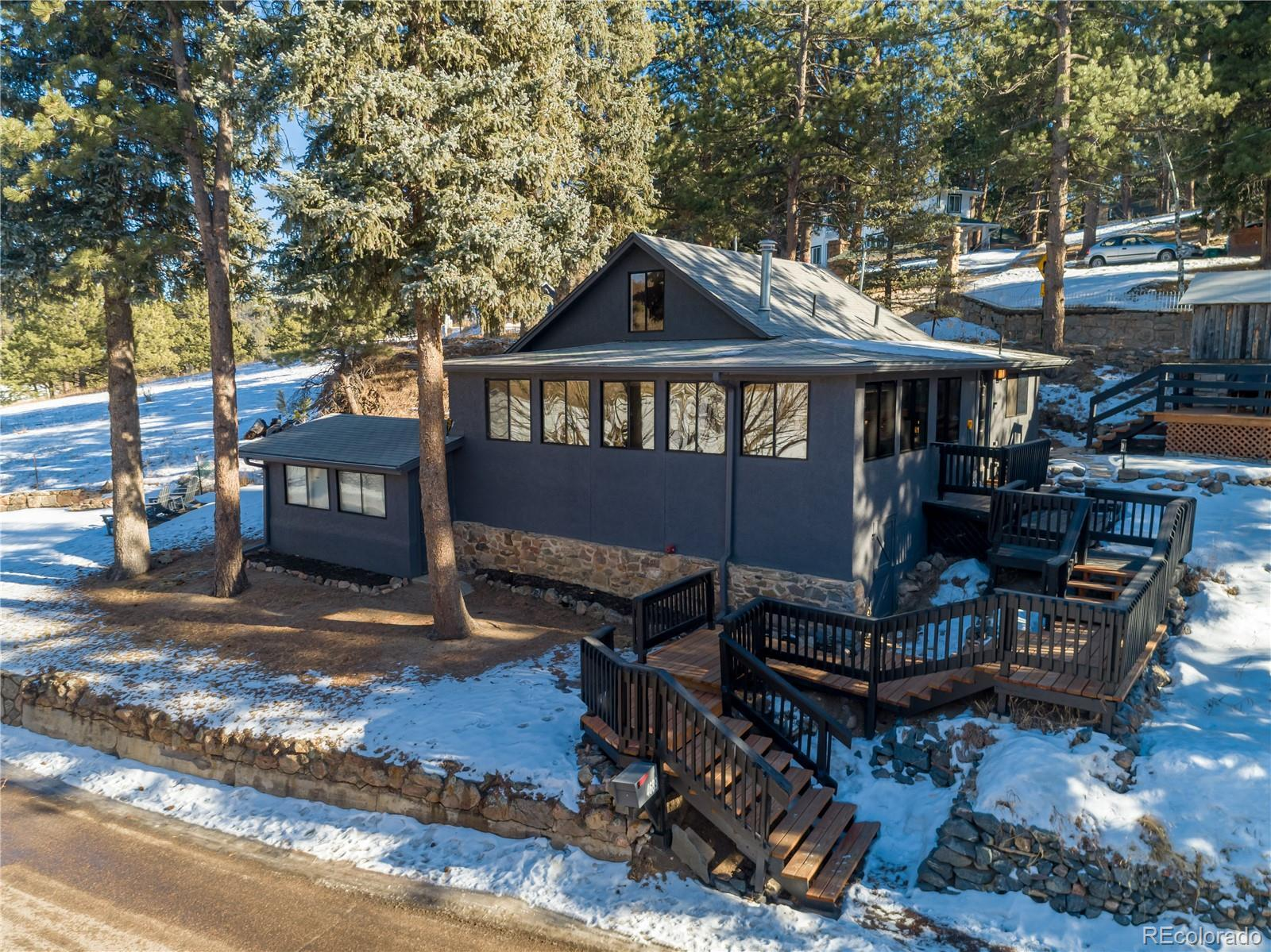 4689 S Blue Spruce Road, Evergreen, CO 80439 - #: 9631727