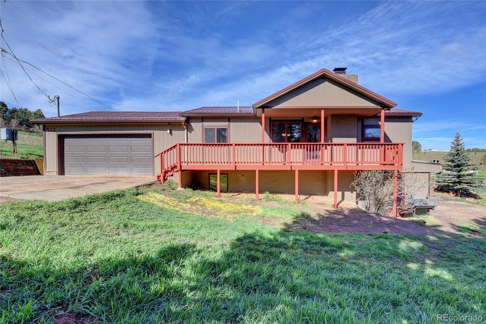 513 South Forty Road, Woodland Park, CO 80863 - #: 5297748