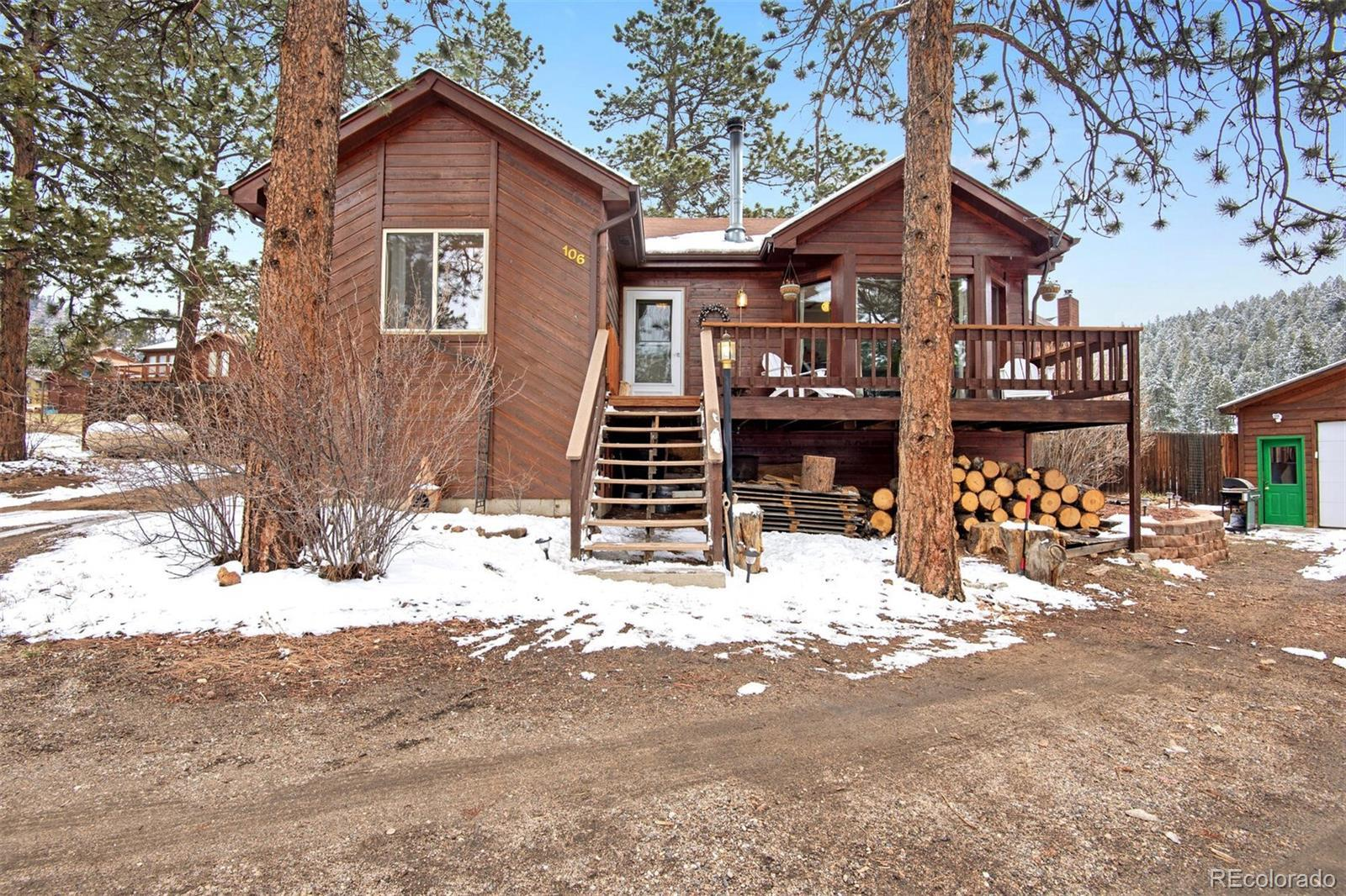 106 Wisp Creek Drive, Bailey, CO 80421 - #: 6334753