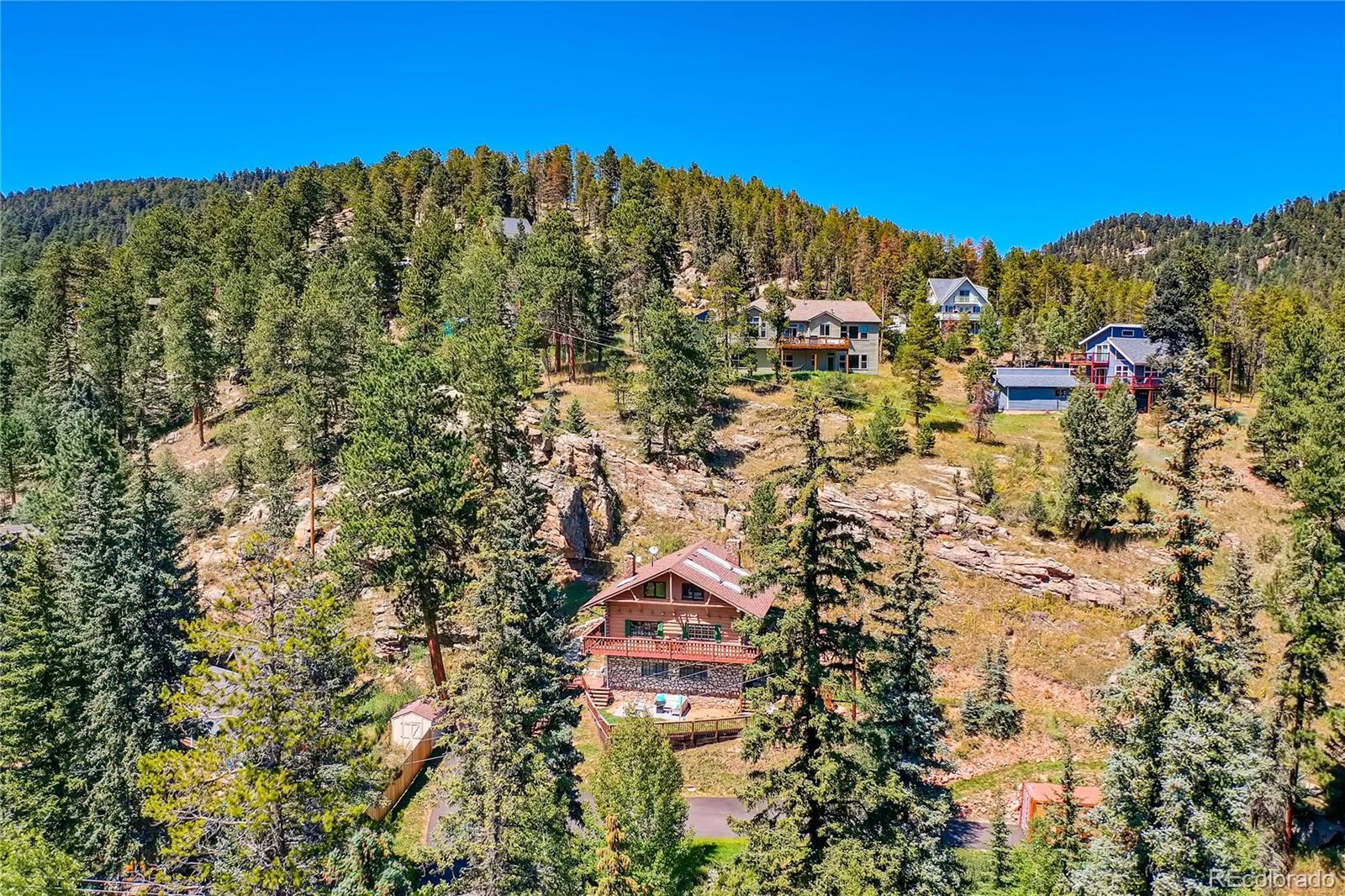 8127 S Brook Forest Road #A&B, Evergreen, CO 80439 - #: 3788768