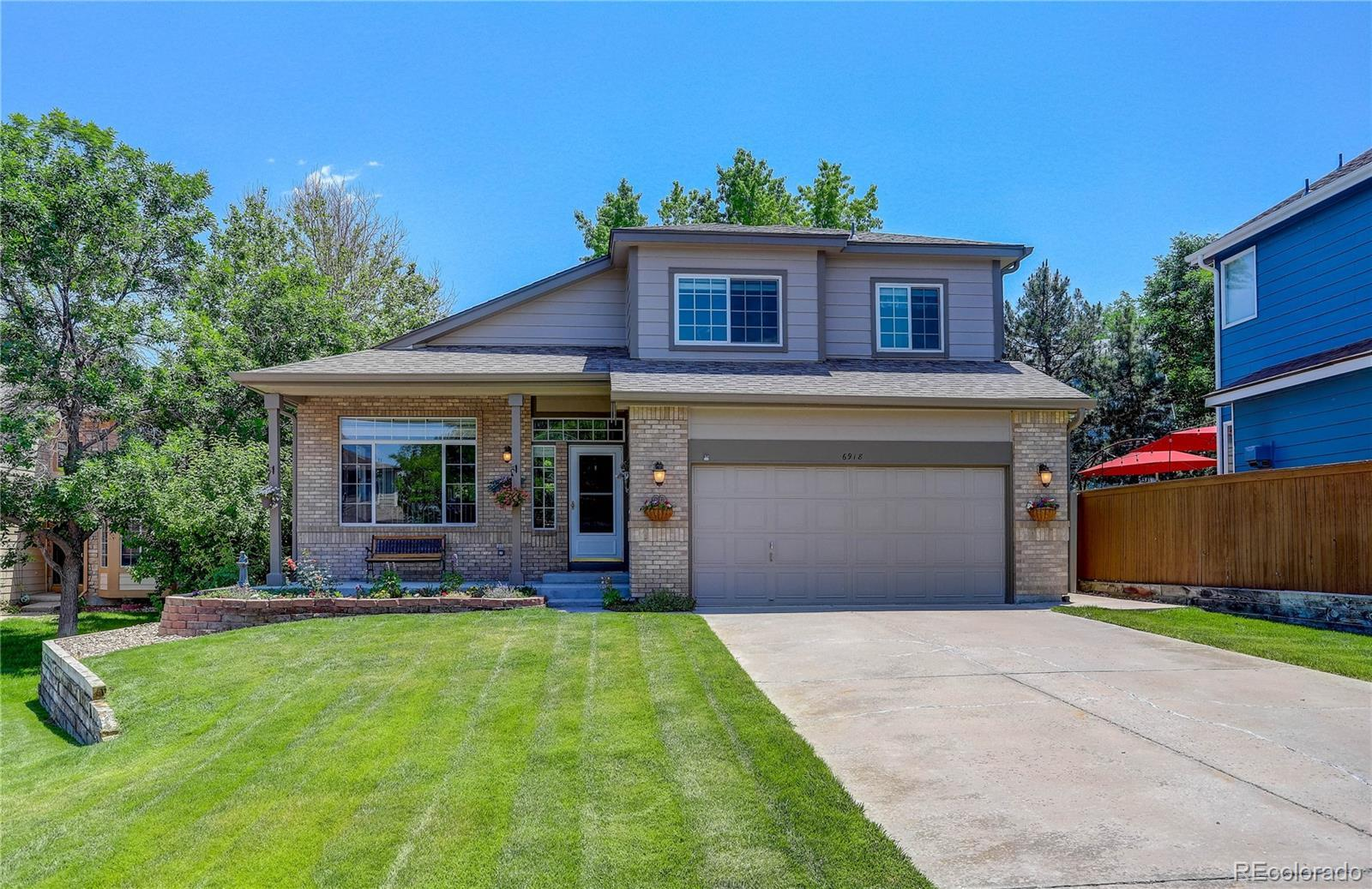 6918 Edgewood Court, Highlands Ranch, CO 80130 - #: 9759772