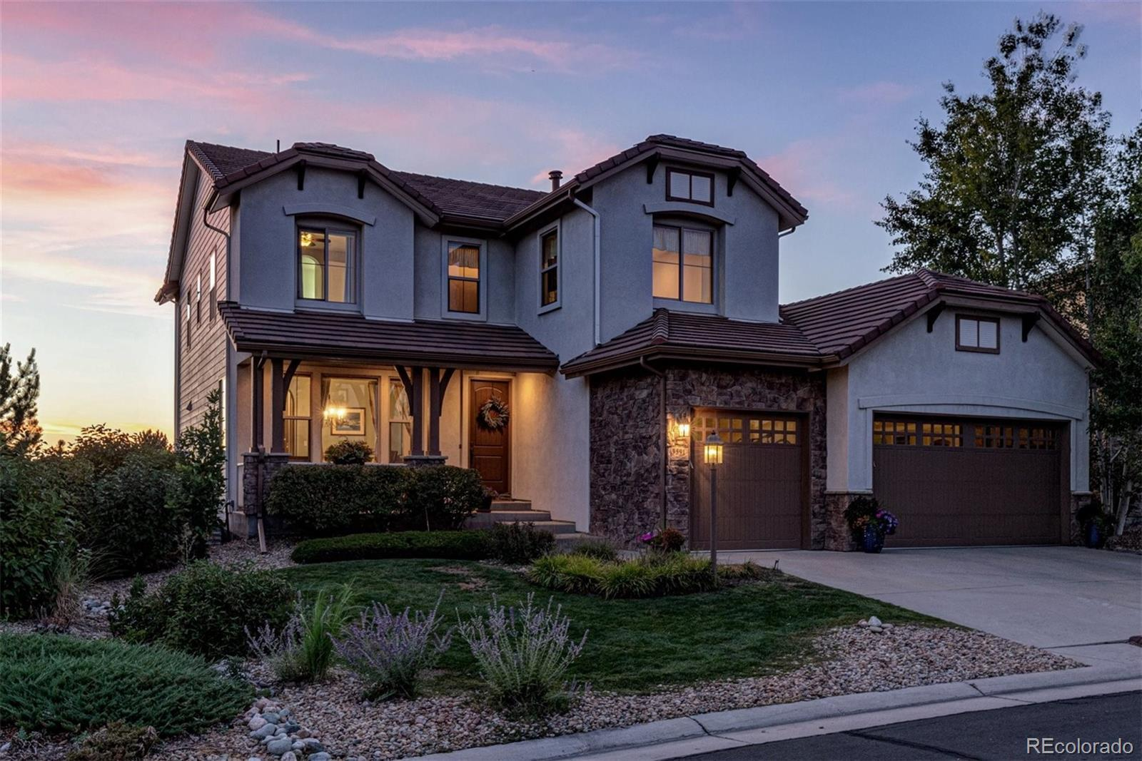 9591 Sunset Hill Drive, Lone Tree, CO 80124 - #: 5232794
