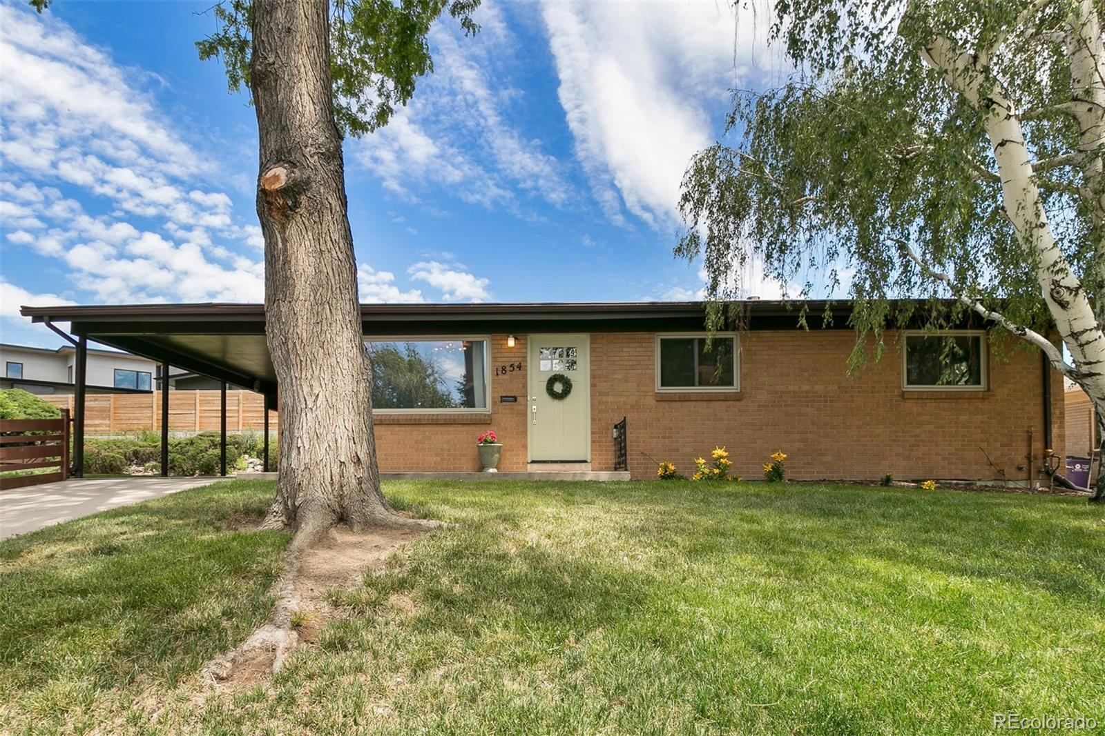 1854 S Glencoe Street, Denver, CO 80222 - #: 9761797