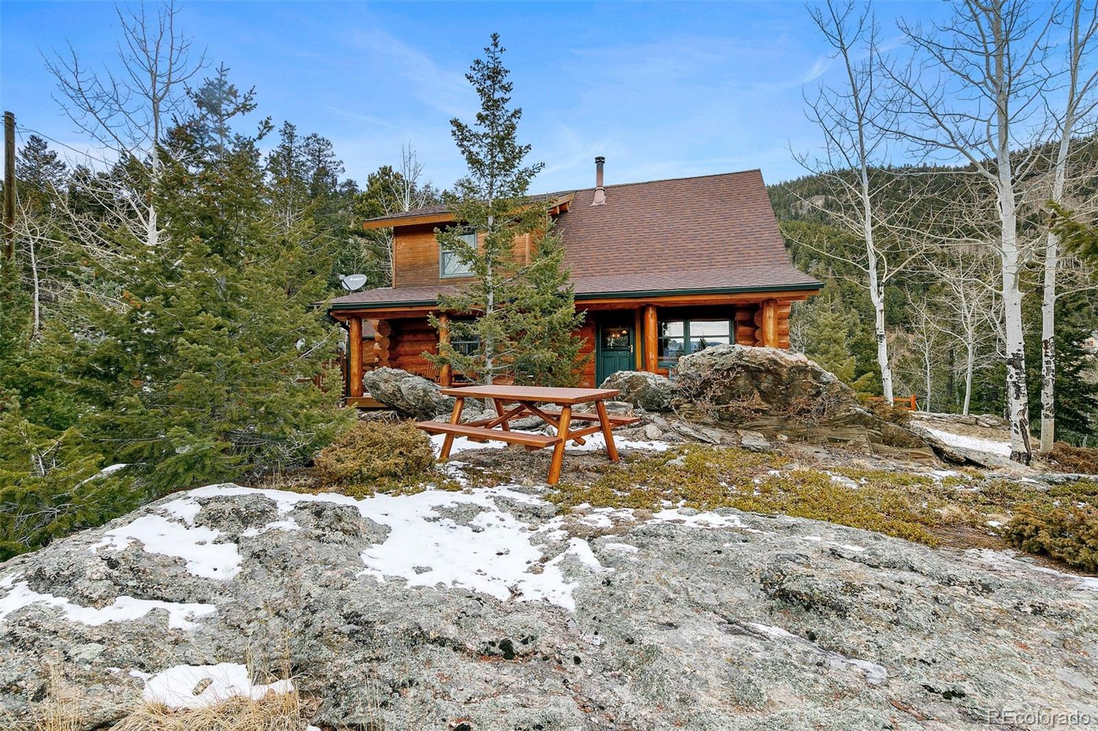 1059 Snyder Mountain Road, Evergreen, CO 80439 - #: 3839822