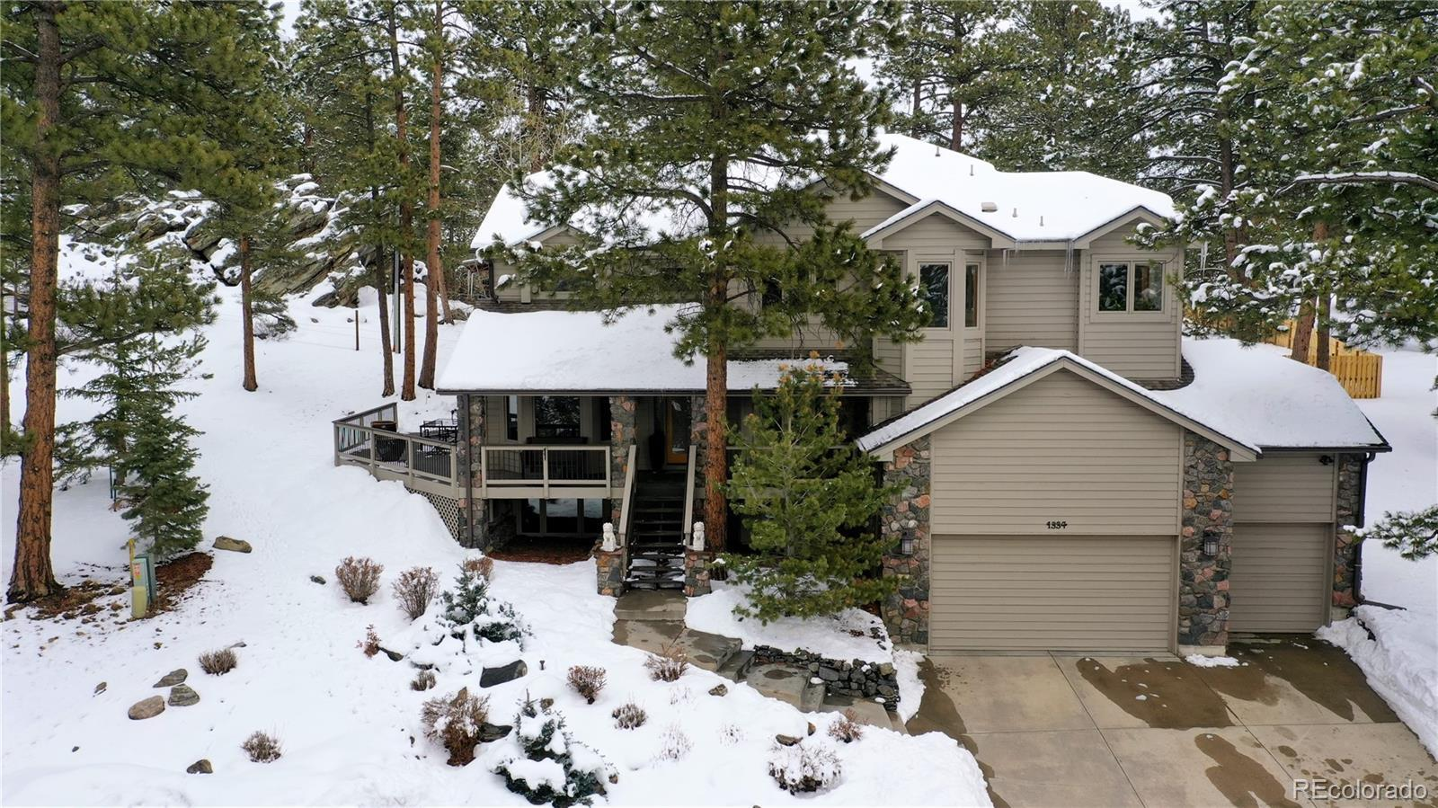 1334 Solitude Lane, Evergreen, CO 80439 - #: 5739822