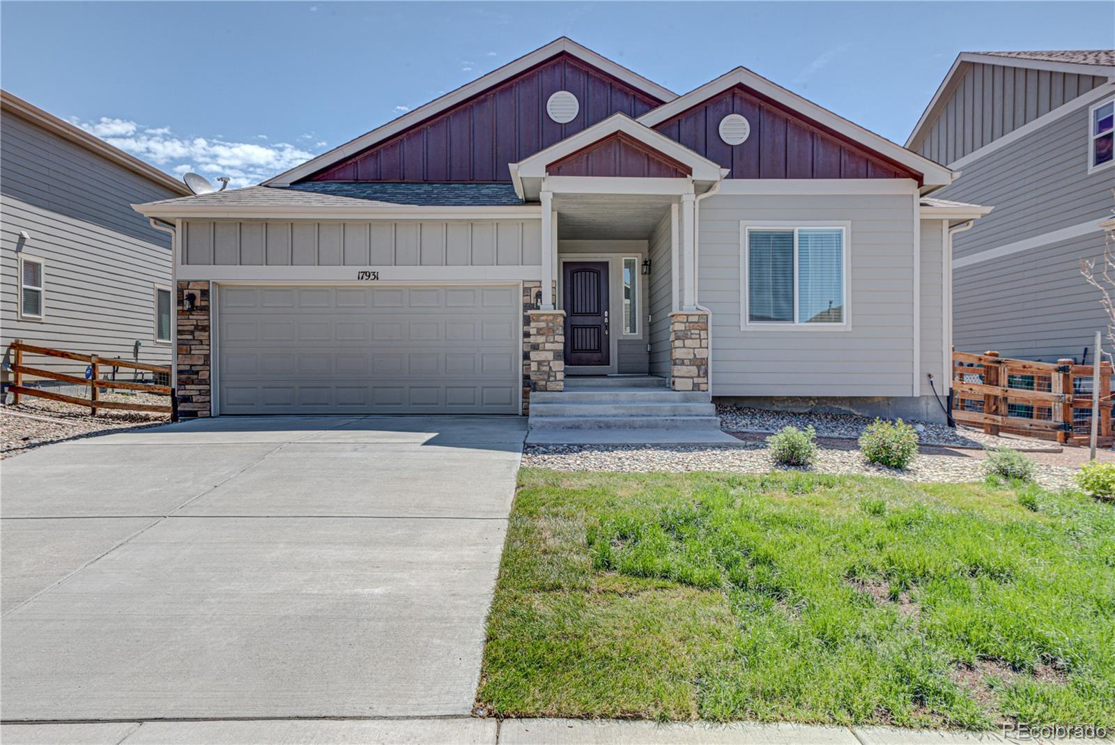 17931 White Marble Drive, Monument, CO 80132 - #: 6502822