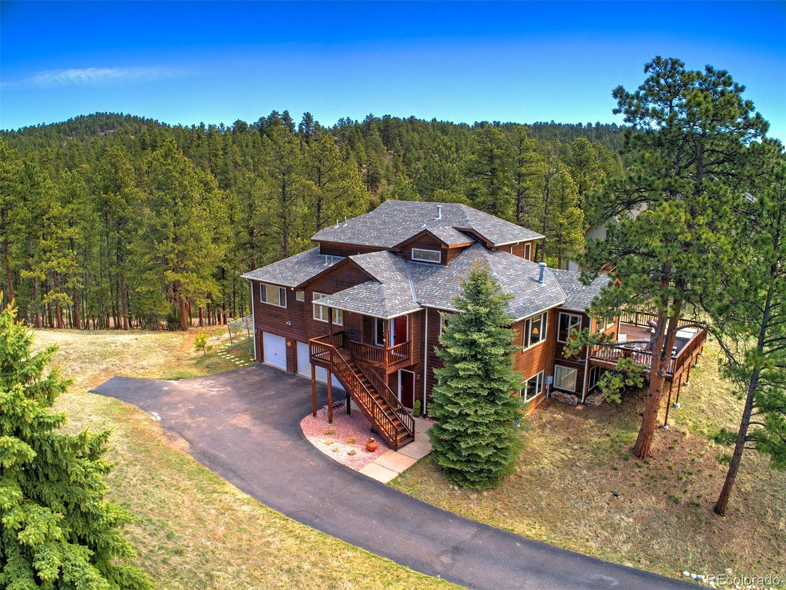 27186 Sun Ridge Drive, Evergreen, CO 80439 - #: 1762835