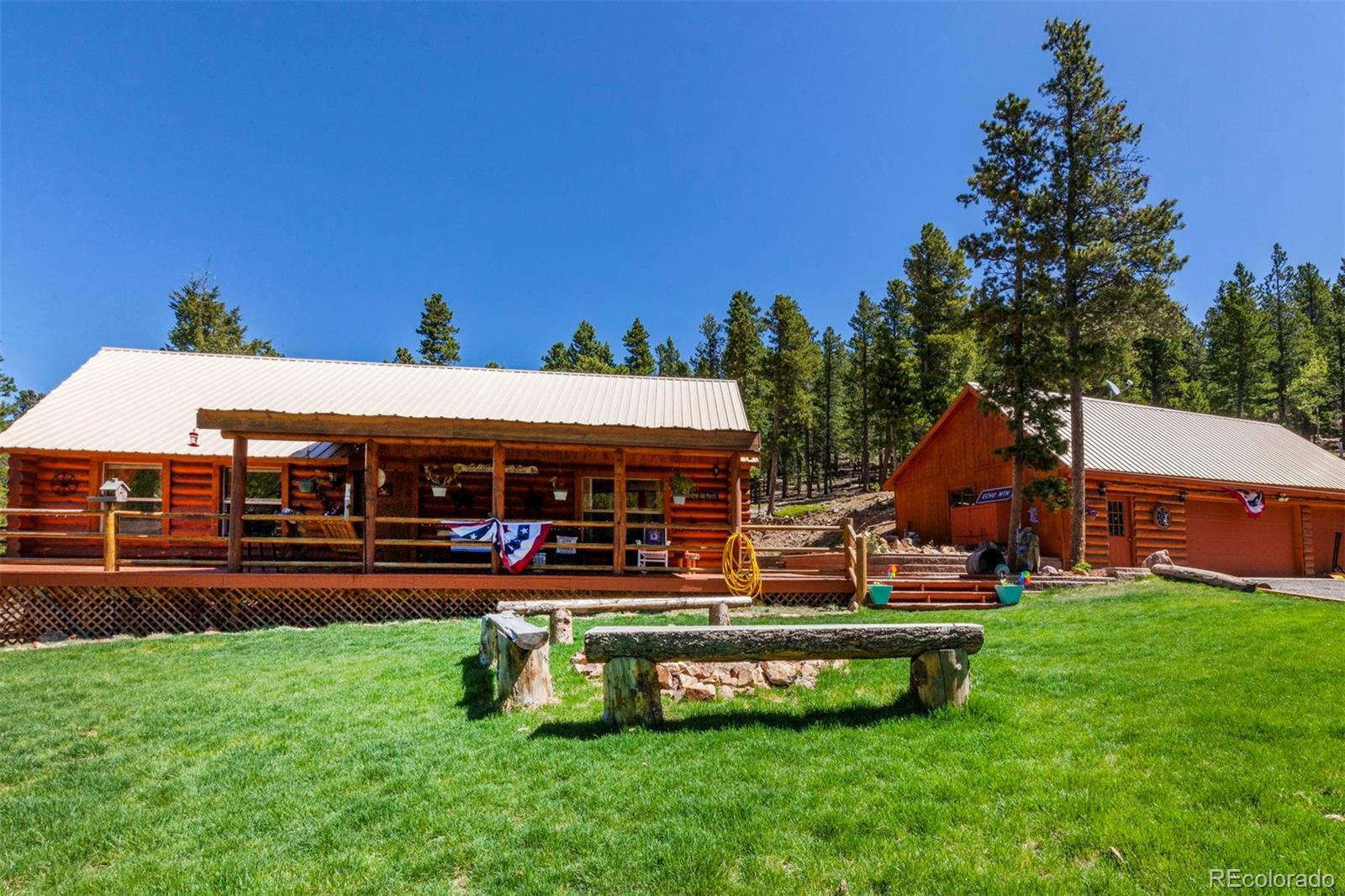 1500 Little Bear Creek Road, Idaho Springs, CO 80452 - #: 4068856