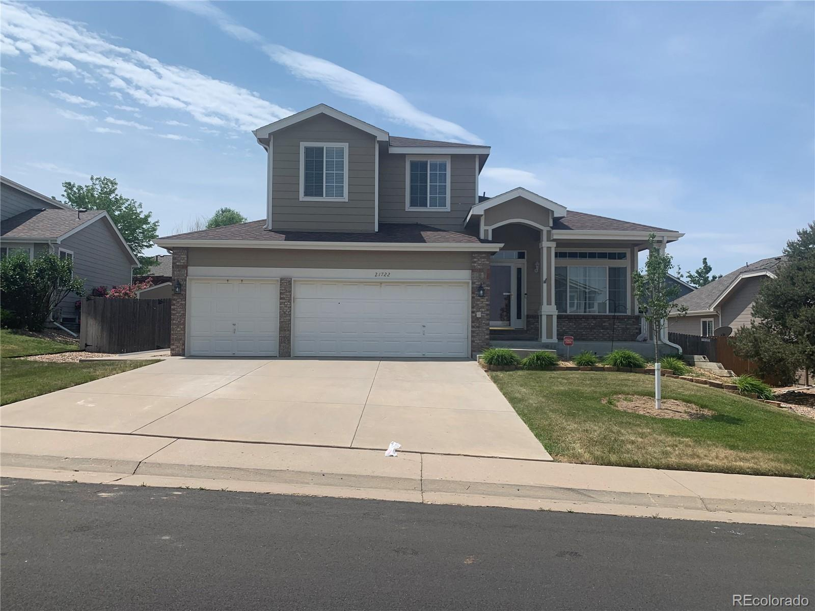 21722 Whirlaway Avenue, Parker, CO 80138 - #: 7479862