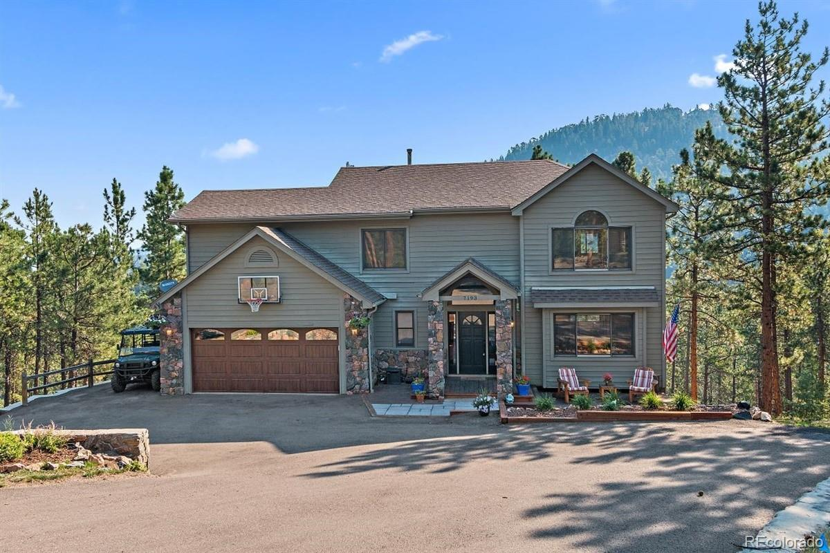 7193 Pinewood Drive, Evergreen, CO 80439 - #: 2653875