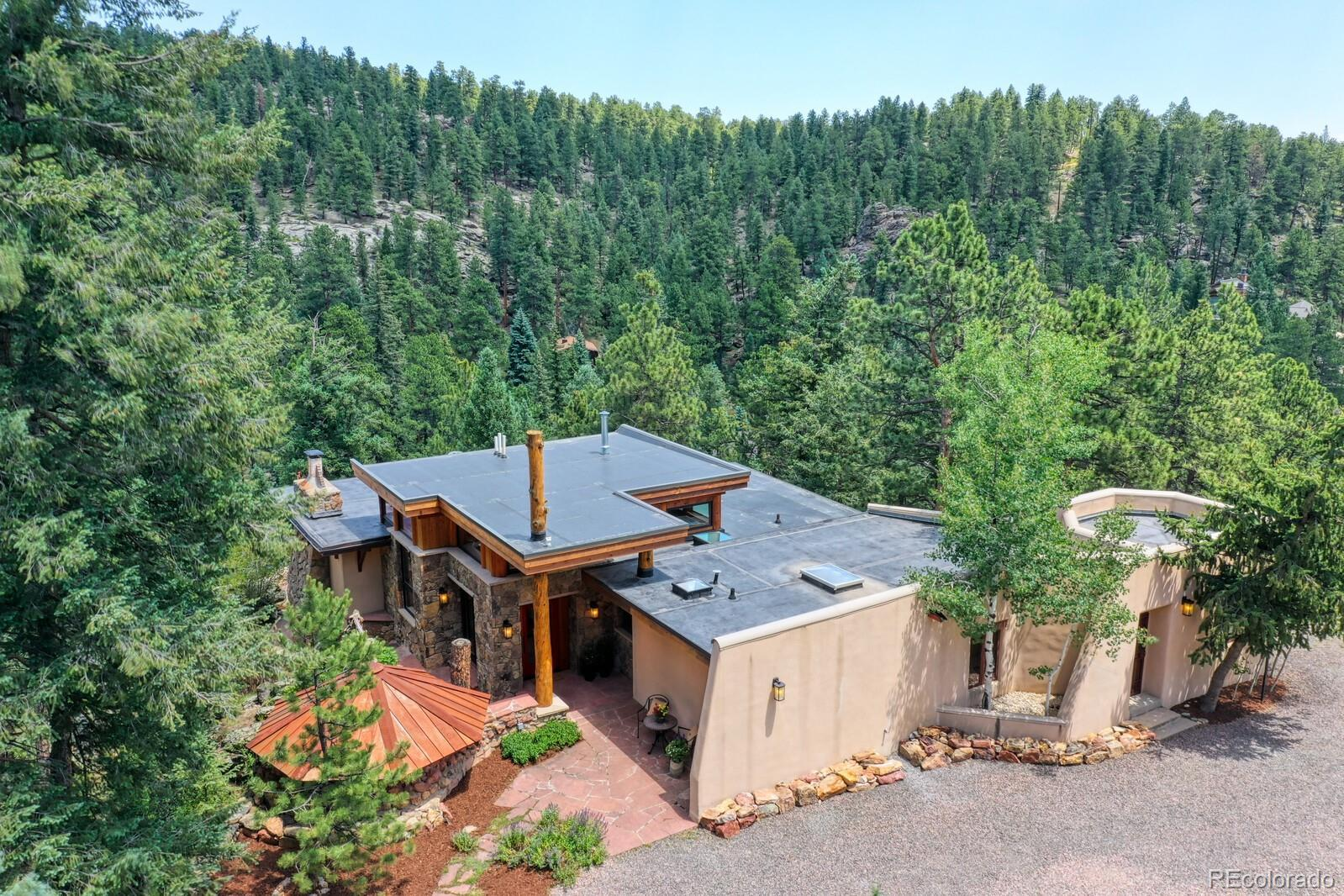 30134 Upper Bear Creek Road, Evergreen, CO 80439 - #: 8029877