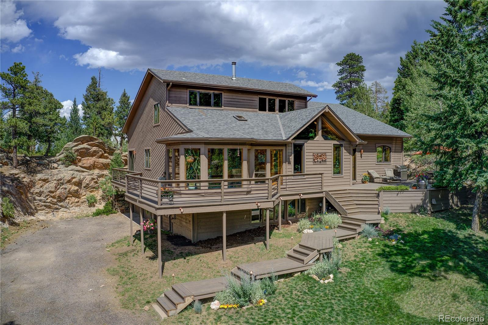 6822 Snowshoe Trail, Evergreen, CO 80439 - #: 7158886