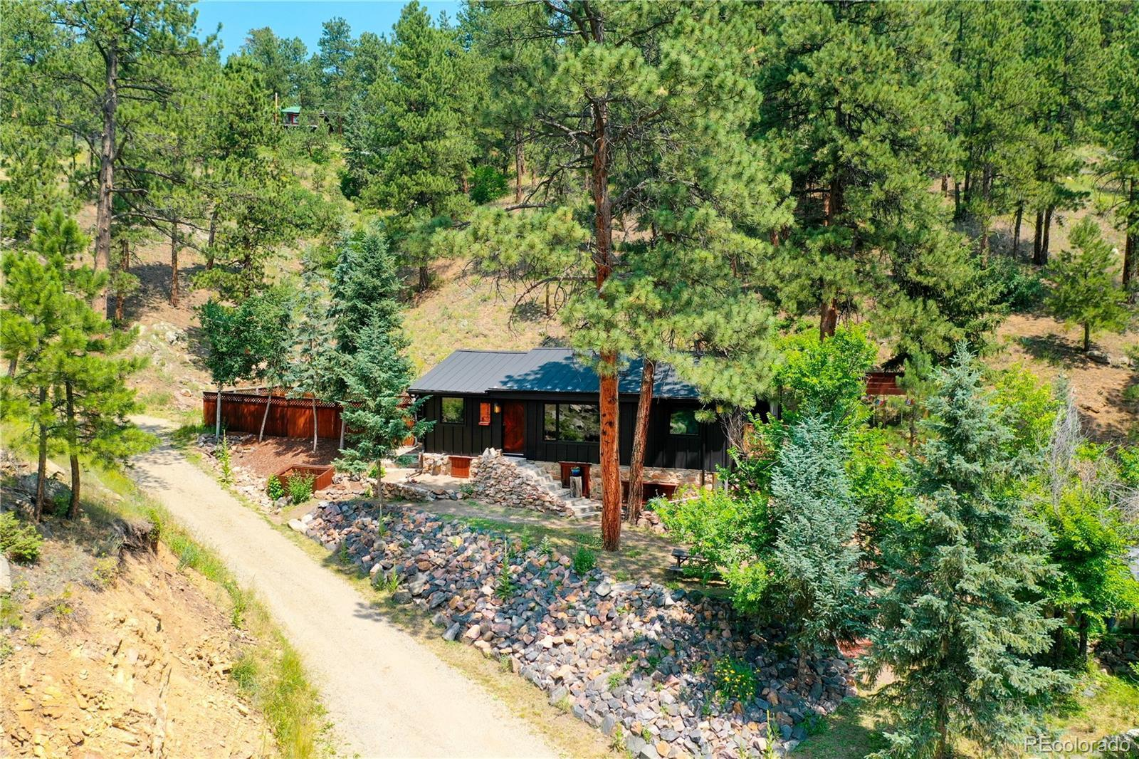 5150 Parmalee Gulch Road, Indian Hills, CO 80454 - #: 2908900