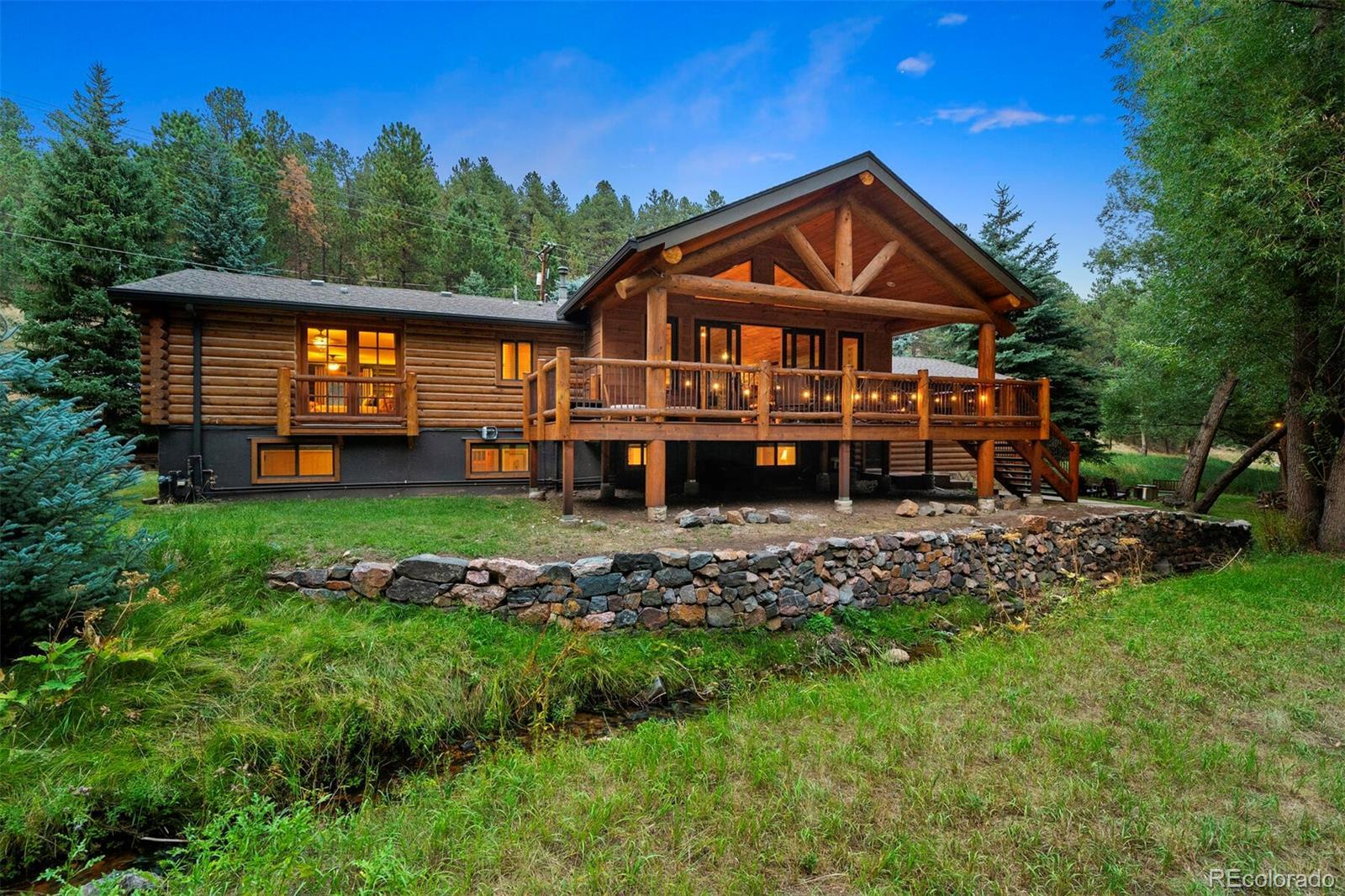 27456 Troublesome Gulch Road, Evergreen, CO 80439 - #: 7054905