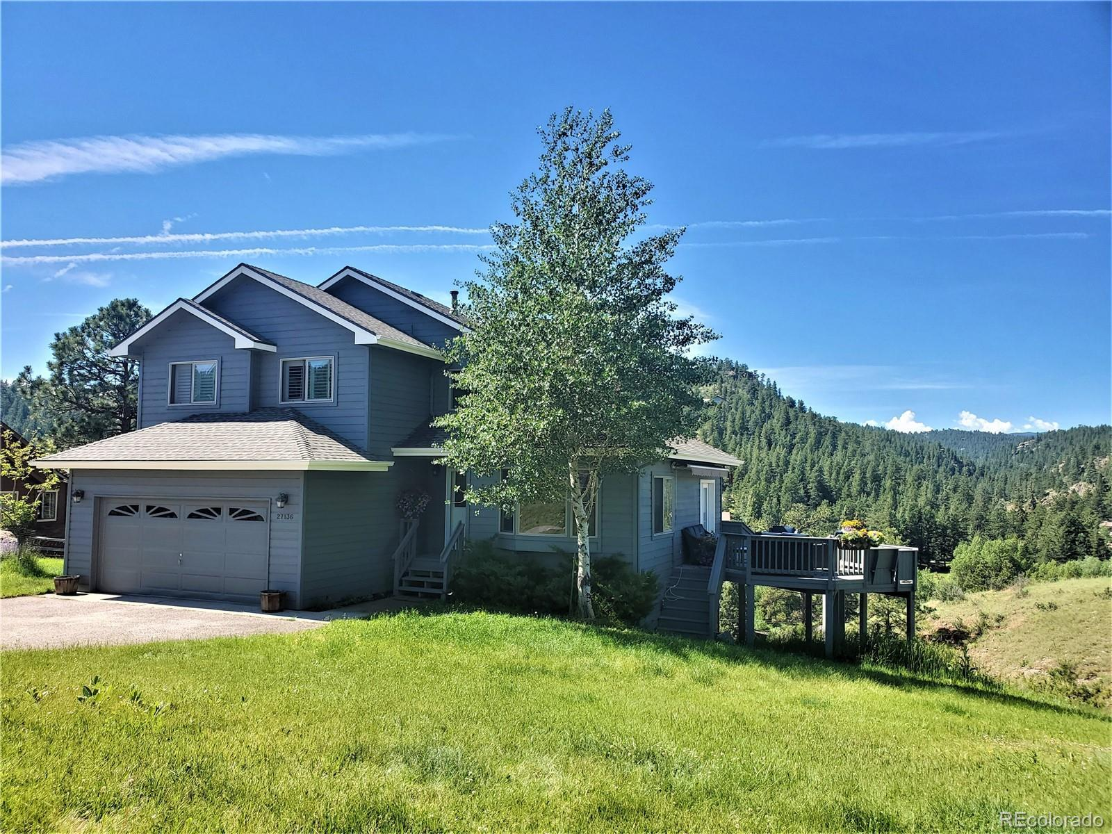 27136 Sun Ridge Drive, Evergreen, CO 80439 - #: 7291913