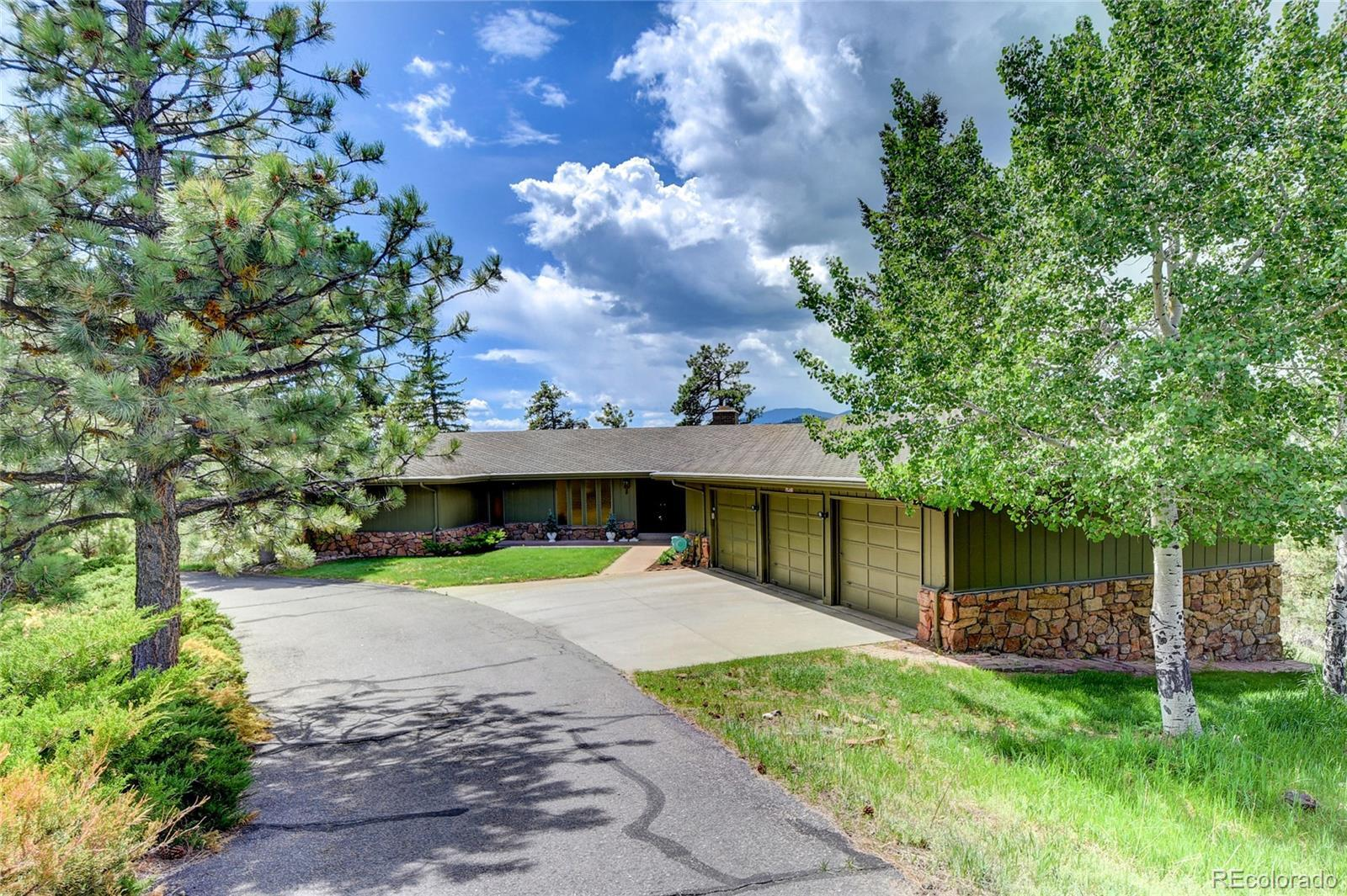2457 Hiwan Drive, Evergreen, CO 80439 - #: 9527916