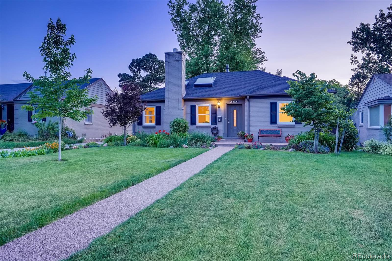 747 Grape Street, Denver, CO 80220 - #: 4736935