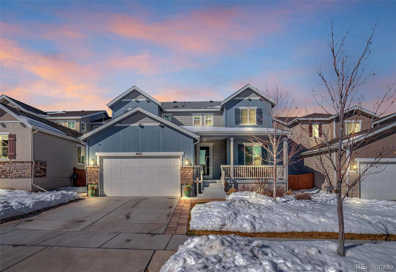 663 W 172nd Place, Broomfield, CO 80023 - #: 8591973