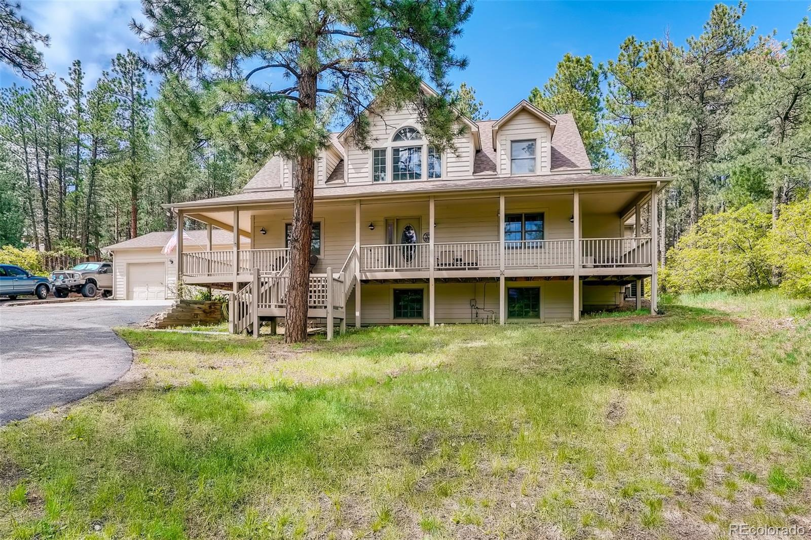 4305 Red Rock Drive, Larkspur, CO 80118 - #: 8331990