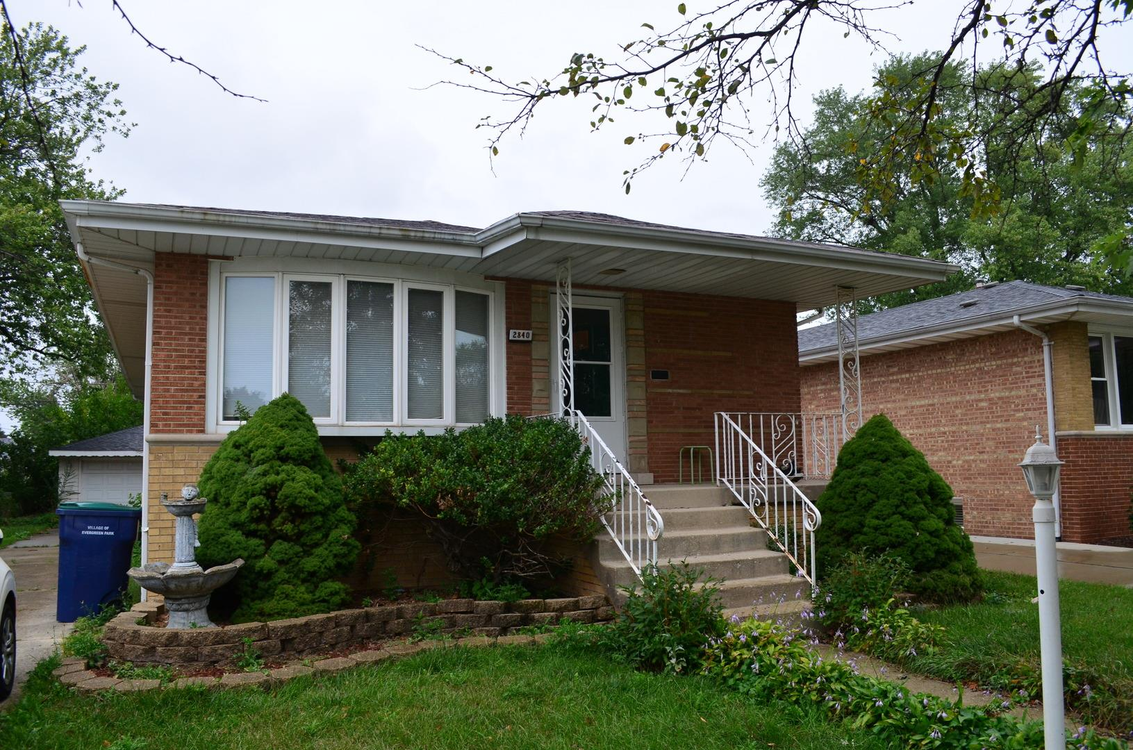 2840 W 100th Place, Evergreen Park, IL 60805 - #: 10859020