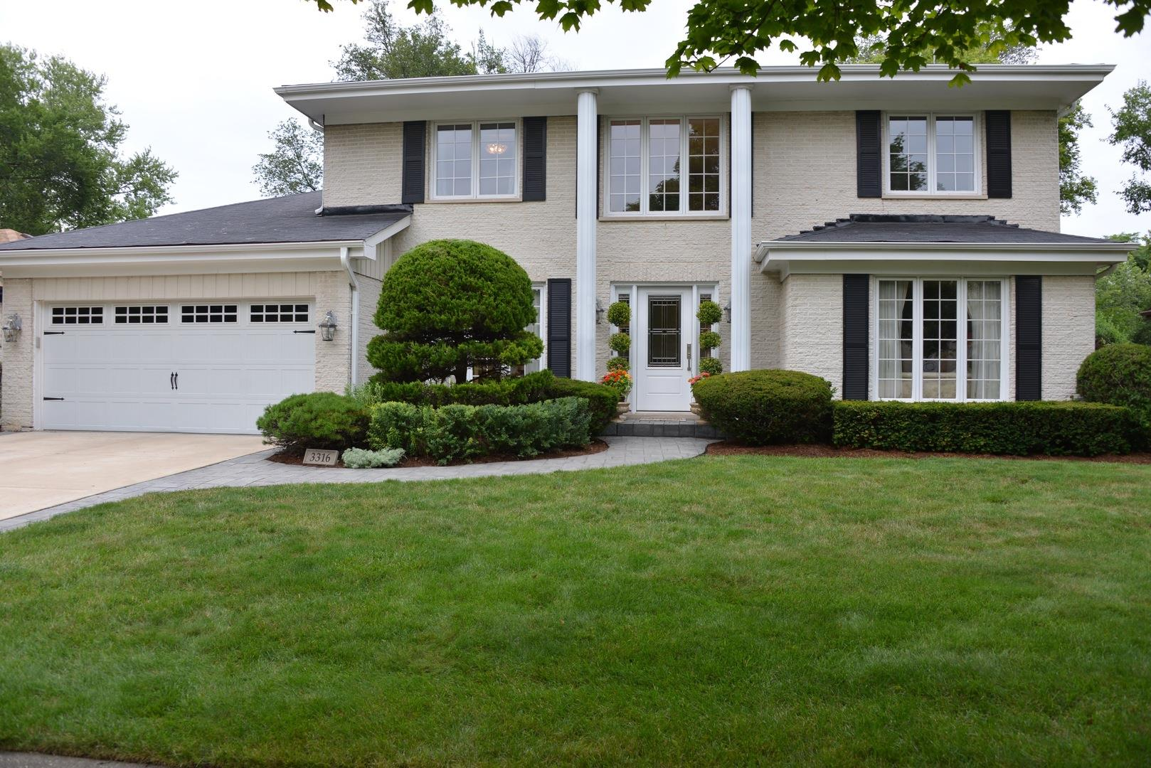 3316 Lakewood Court, Glenview, IL 60026 - #: 10871026