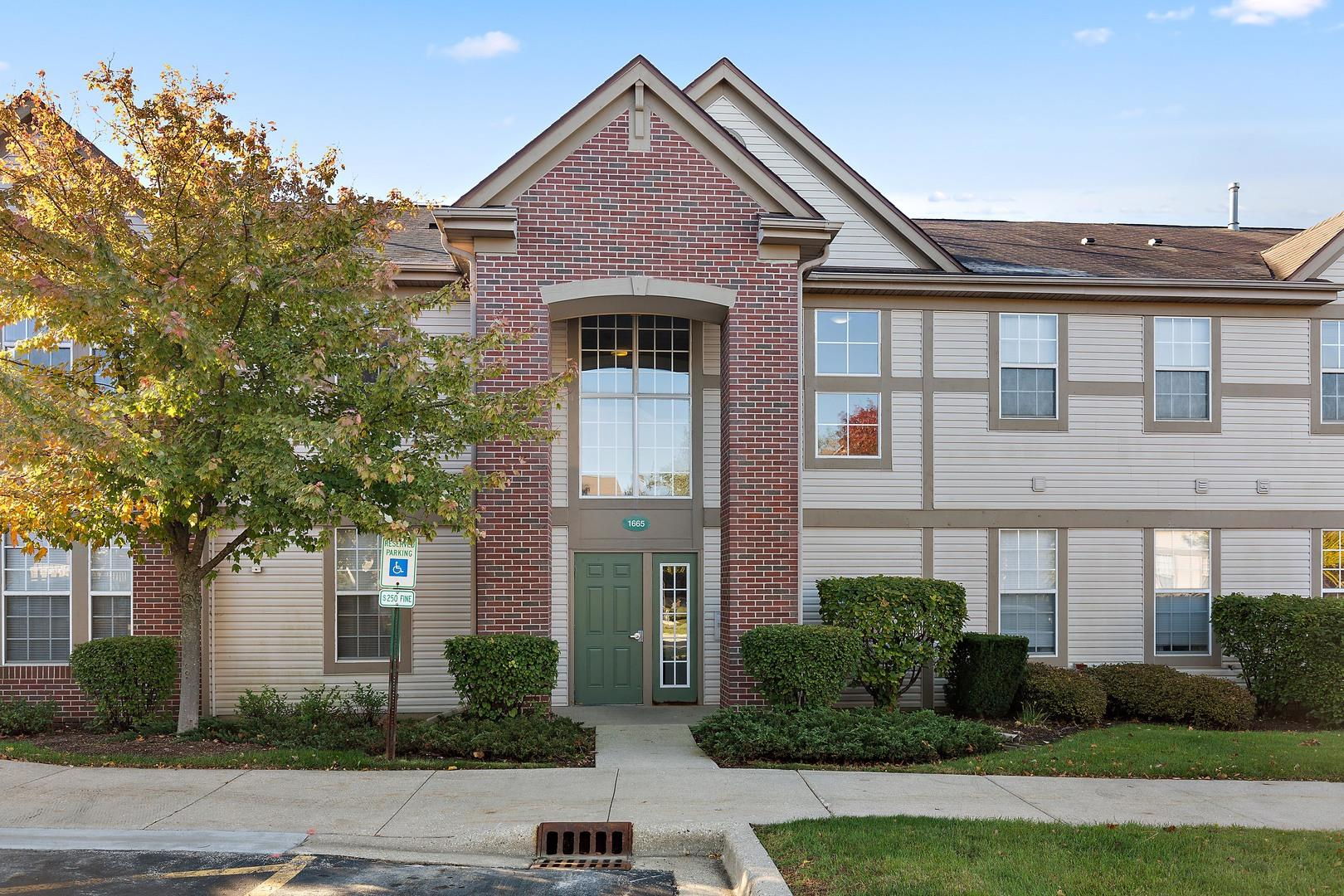 1665 Carlemont Drive UNIT C, Crystal Lake, IL 60014 - #: 10564038