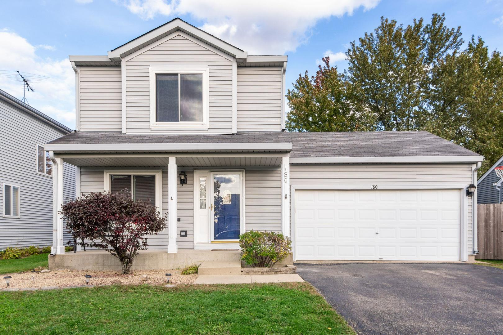 180 BRIDLEWOOD Circle, Lake in the Hills, IL 60156 - #: 10891048