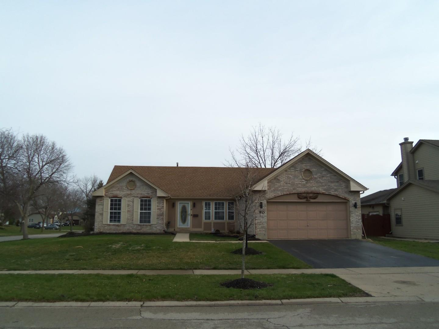 90 Brentwood Trail, Elgin, IL 60120 - #: 11044053