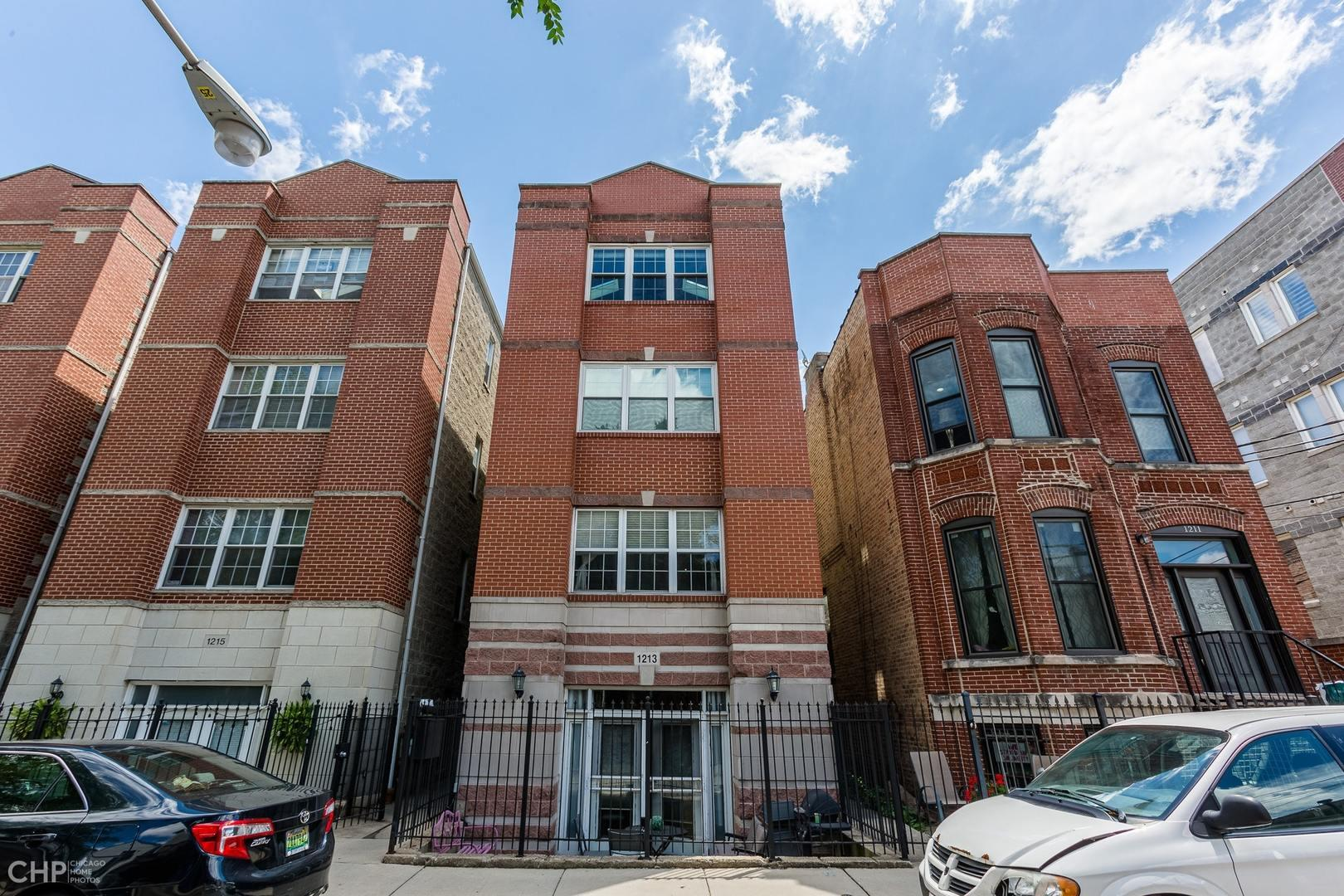 1213 N Honore Street #1, Chicago, IL 60622 - #: 10760067