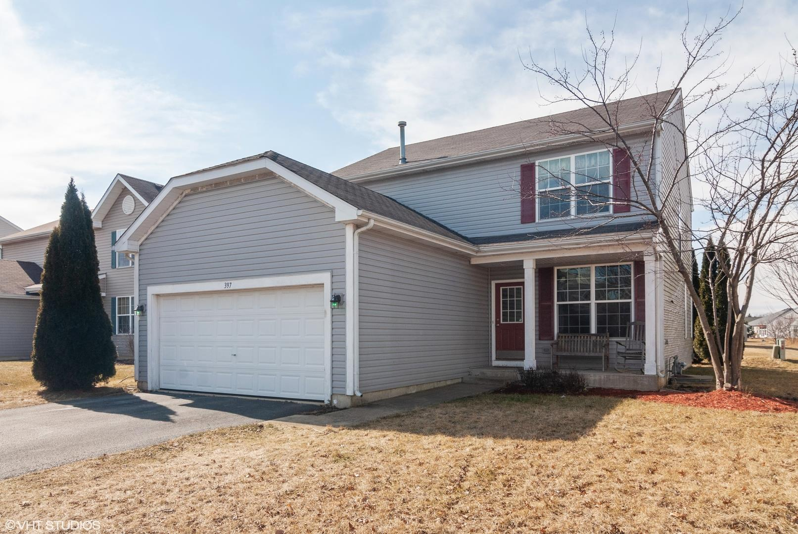 397 Grape Vine Trail, Oswego, IL 60543 - #: 10714069