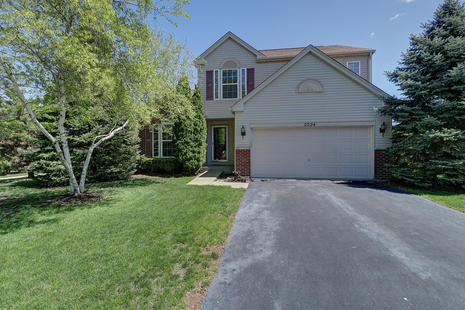 2224 ASHBROOK Lane, Plainfield, IL 60586 - #: 11078083