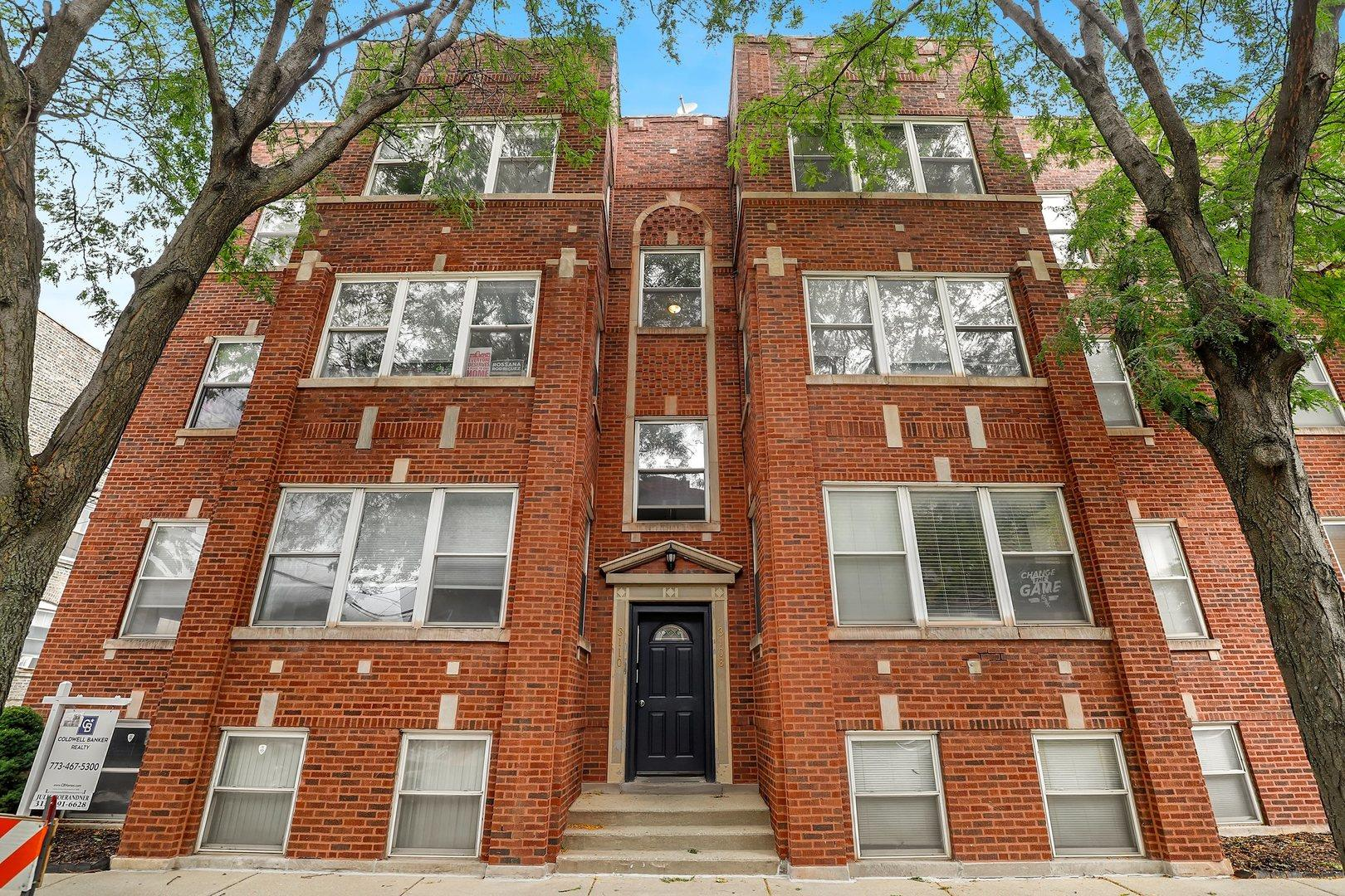 3108 W Belle Plaine Avenue #3, Chicago, IL 60618 - #: 10886084