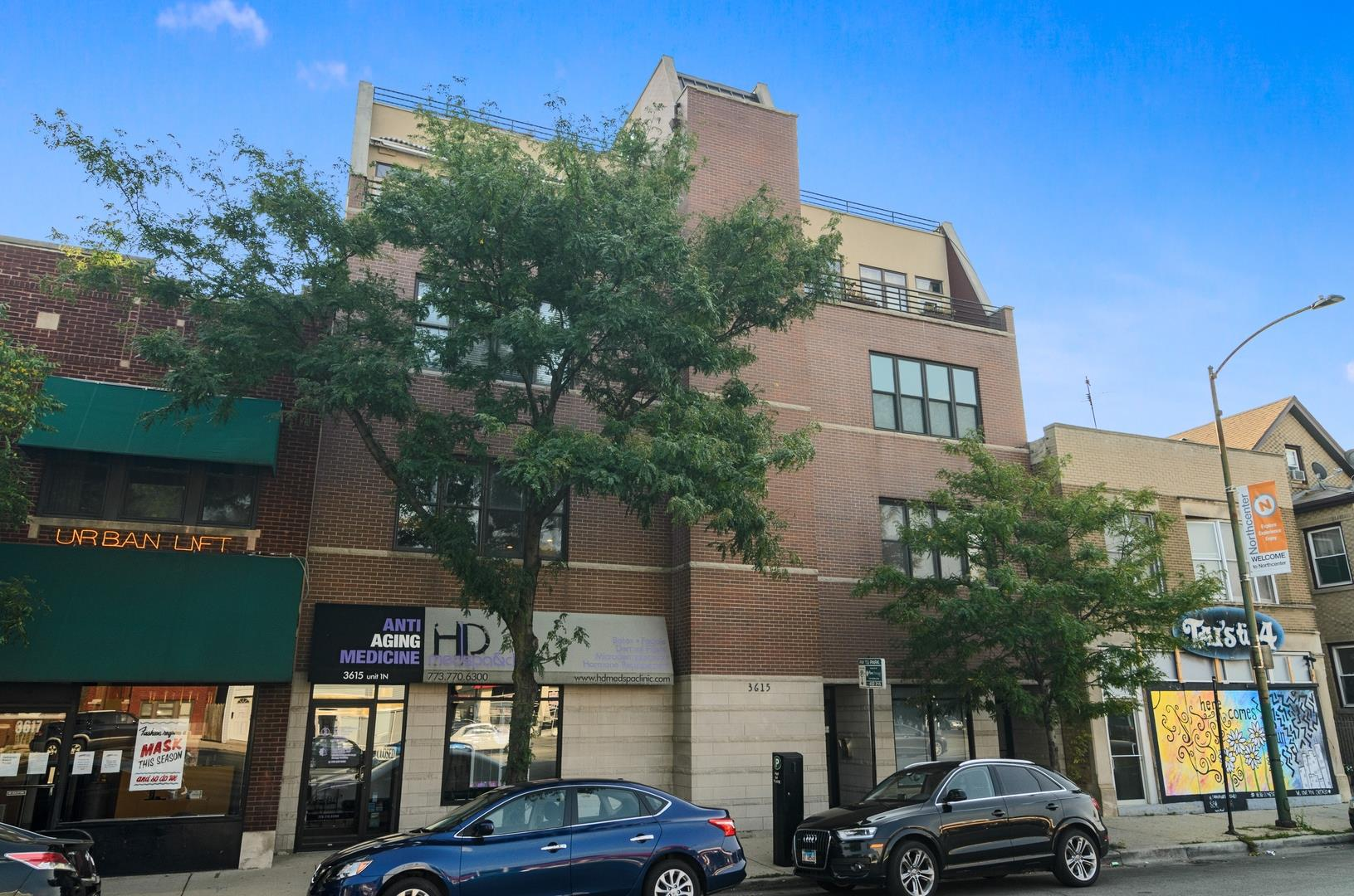 3615 N ASHLAND Avenue #3S, Chicago, IL 60613 - #: 10838090
