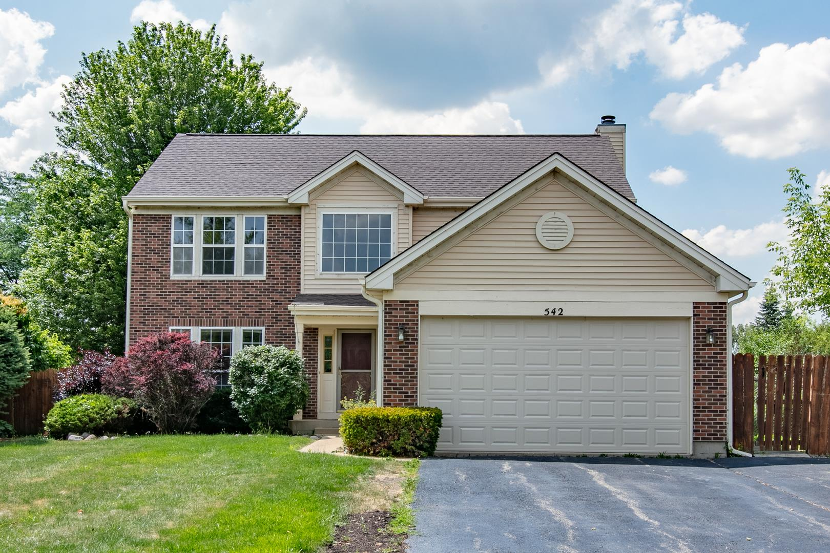 542 W Weeping Willow Road, Round Lake, IL 60073 - #: 10773112