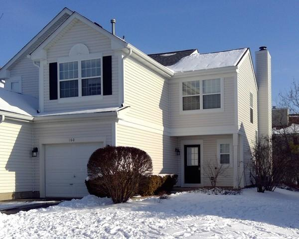 160 Northlight Passe #160, Lake in the Hills, IL 60156 - #: 10991128